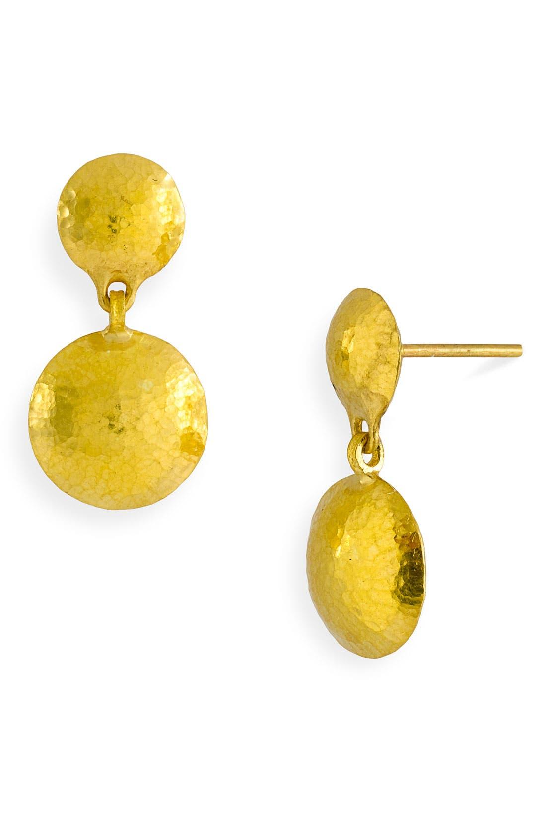 Main Image - Gurhan 'Lentil' Double Disc Drop Earrings