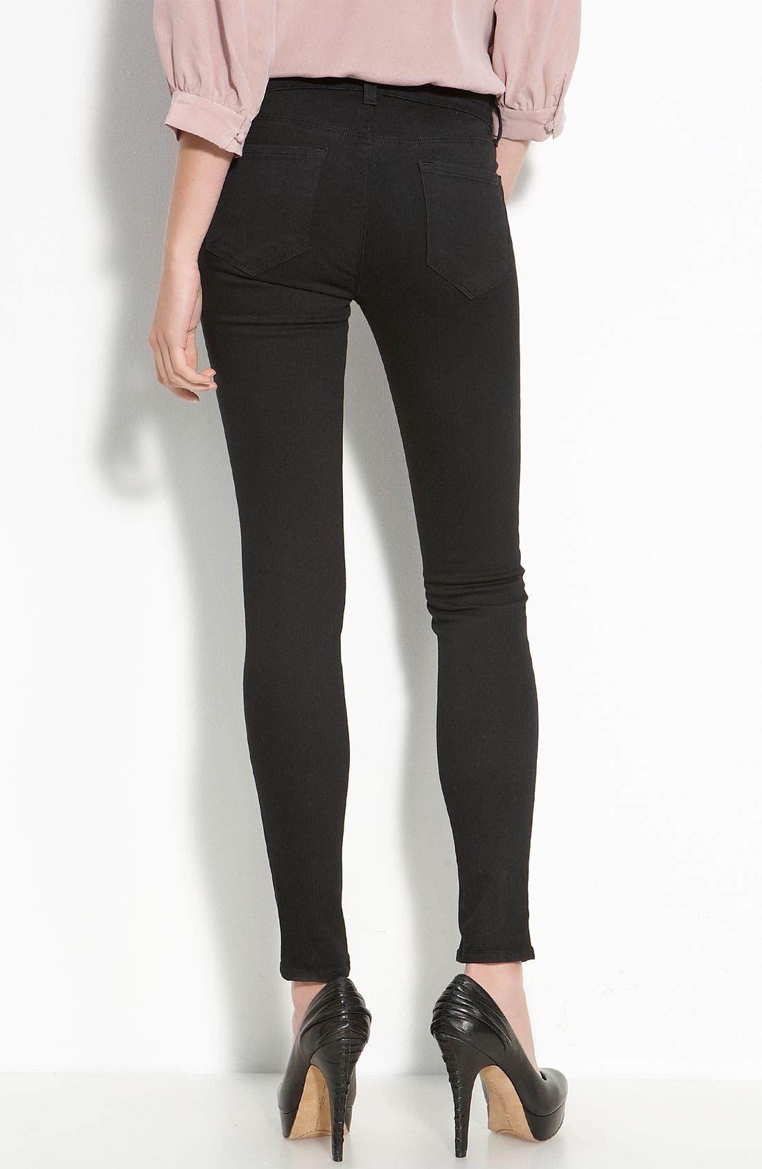 Alternate Image 2  - J Brand Skinny Stretch Jeans