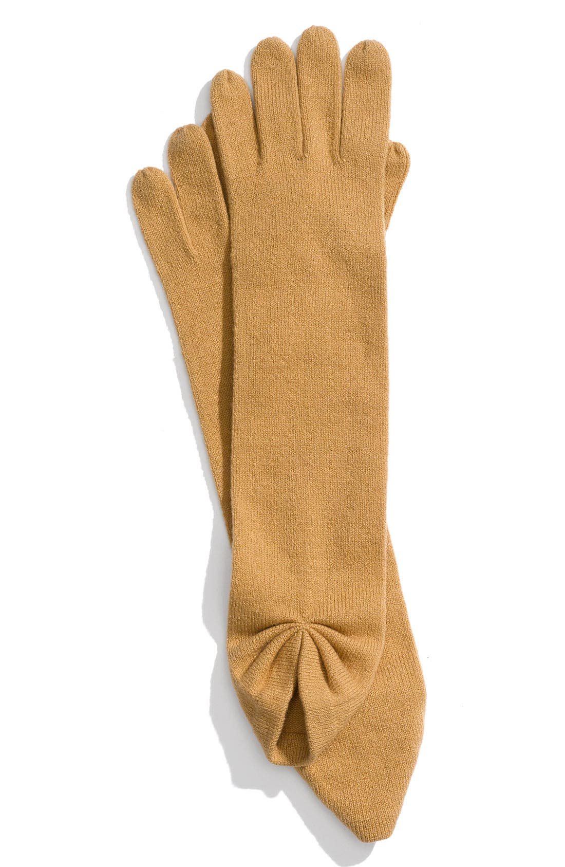 Alternate Image 1 Selected - Nordstrom Gathered Gloves
