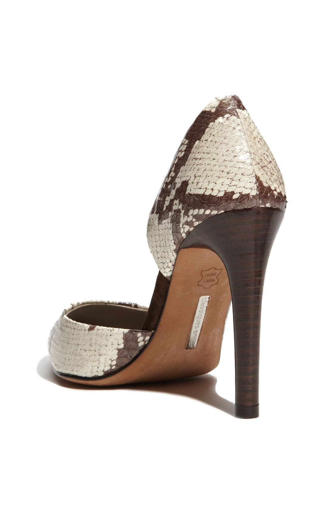 Alternate Image 2  - Classiques Entier® 'Felicia' Snake Embossed Pump