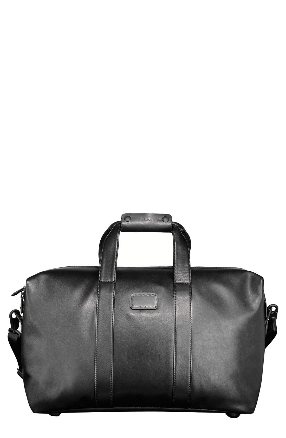 Alternate Image 2  - Tumi 'Small Alpha' Soft Leather Travel Satchel