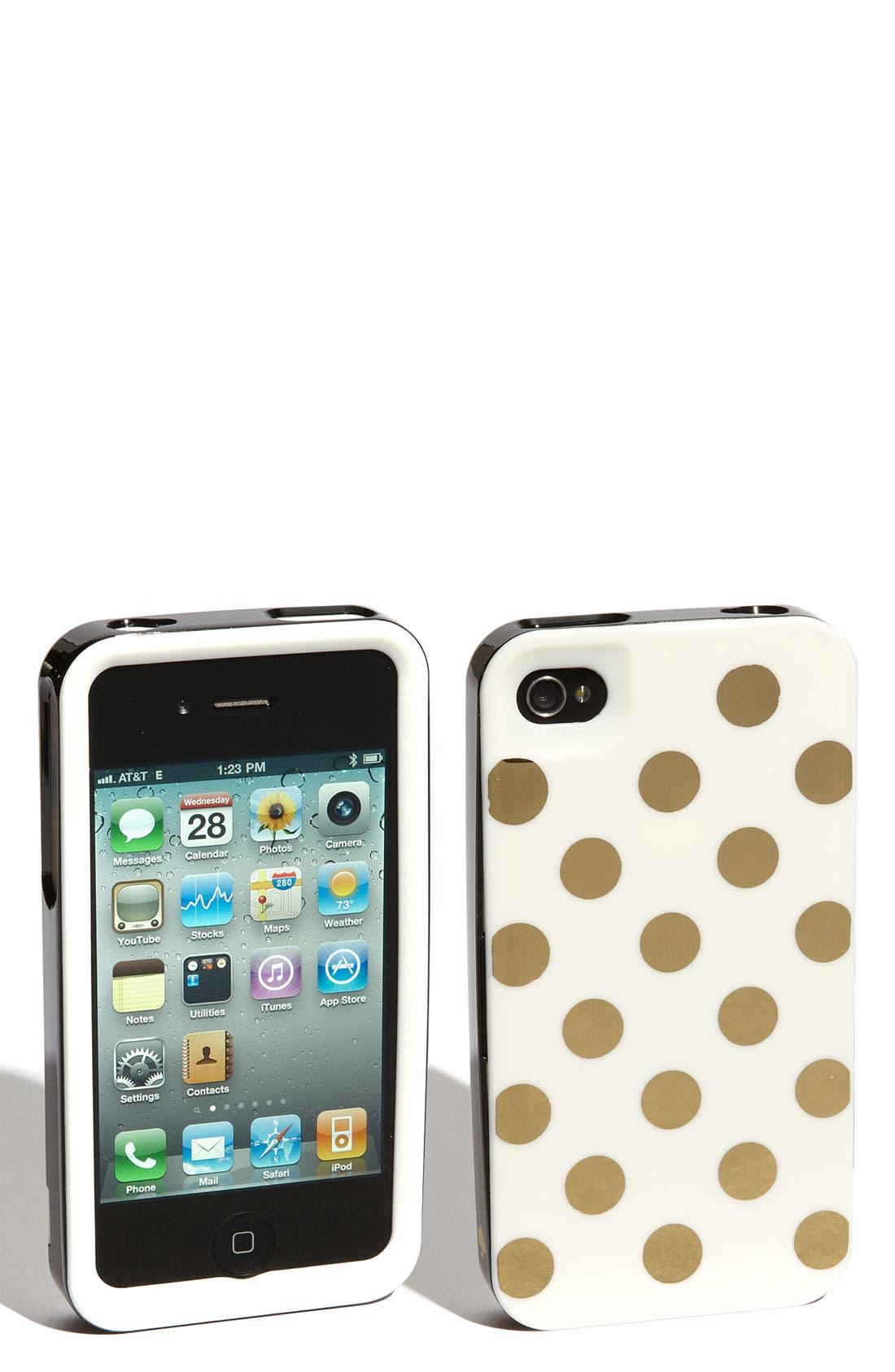 Main Image - kate spade new york rigid iPhone 4 & 4S case