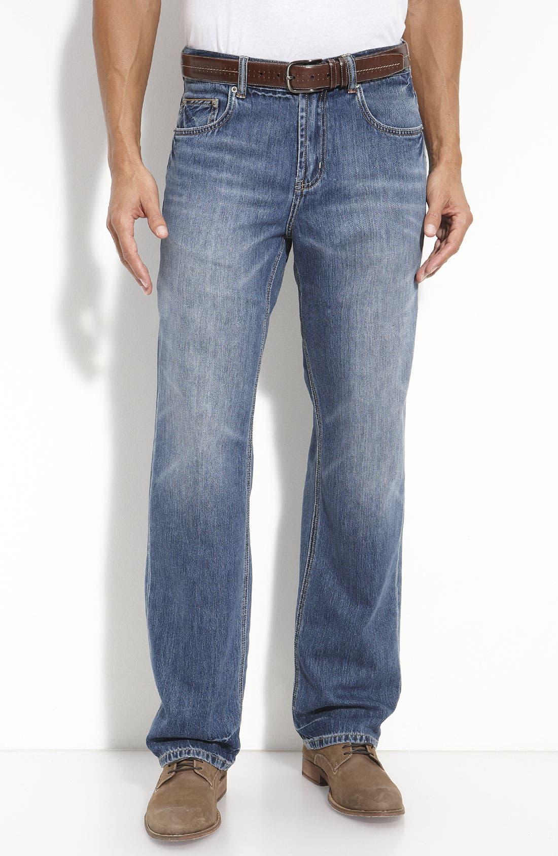 Alternate Image 1 Selected - Tommy Bahama Denim 'Island Ease' Classic Fit Jeans (Vintage Medium)(Big & Tall)