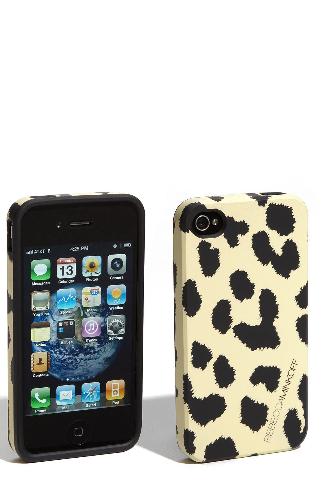 Alternate Image 1 Selected - Rebecca Minkoff 'Cheetah' iPhone 4 & 4S Case