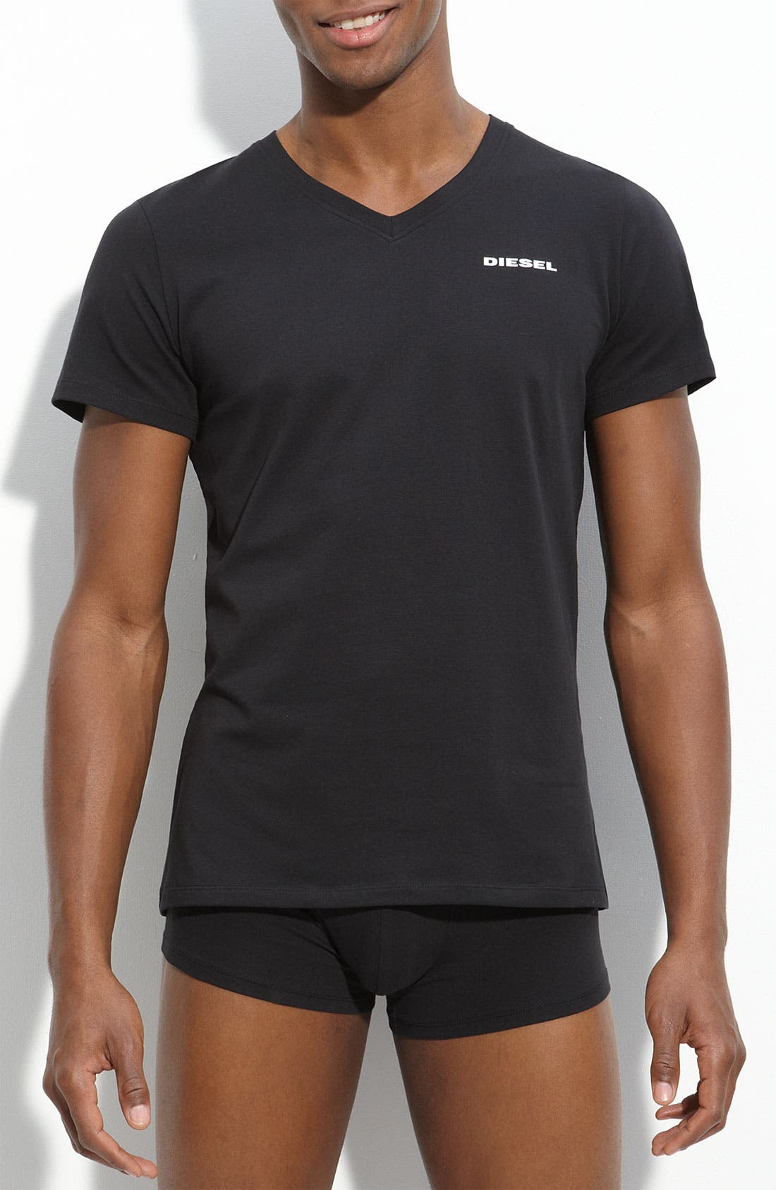 Alternate Image 1 Selected - DIESEL® Trim Fit V-Neck T-Shirt