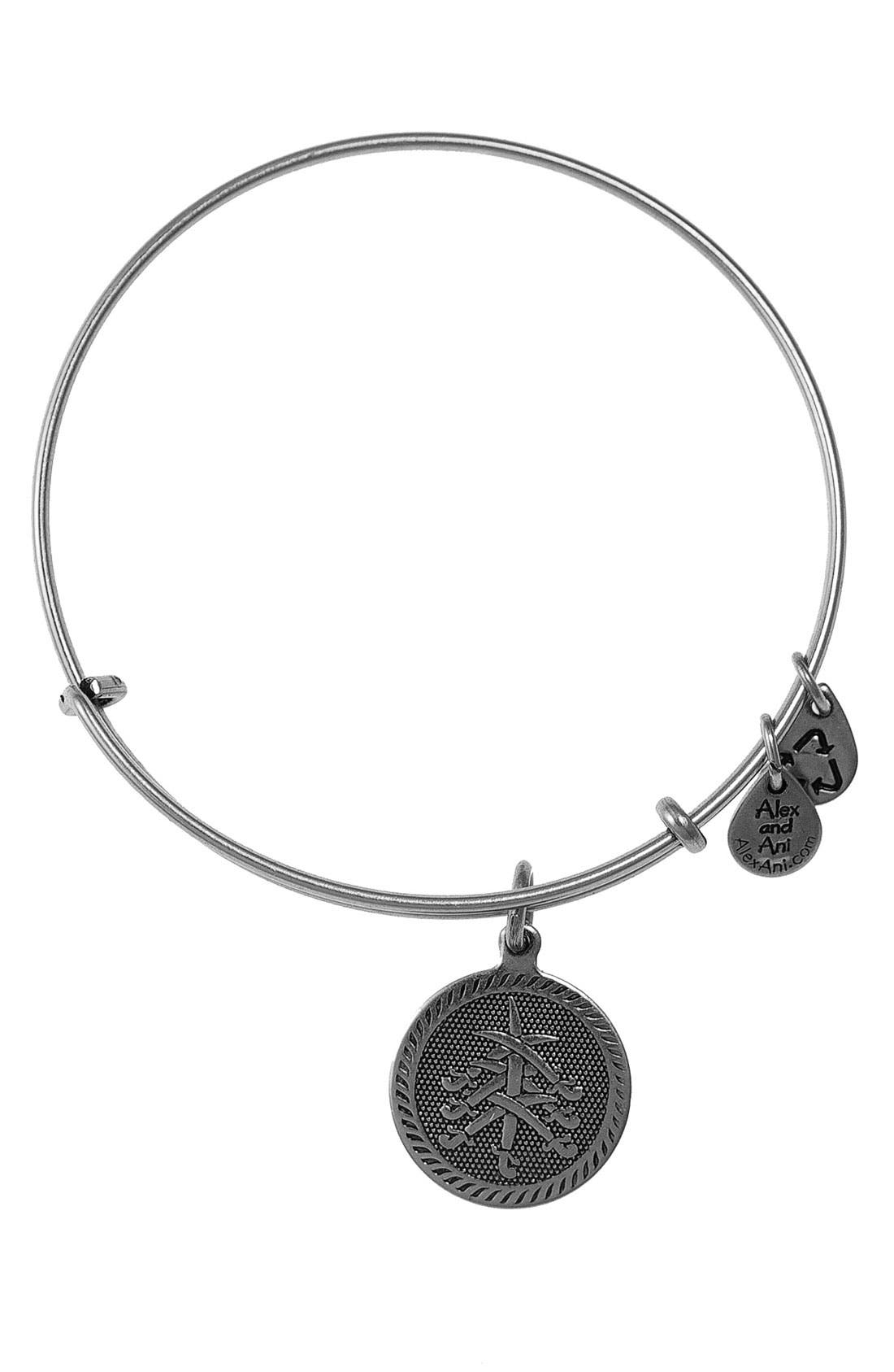 Alternate Image 1 Selected - Alex and Ani 'Seven Swords' Wire Bangle