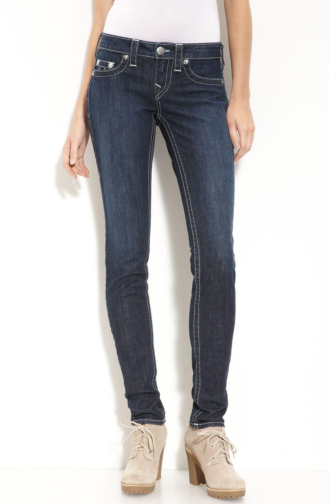 Main Image - True Religion Brand Jeans Skinny Jeans (Lonestar Wash)