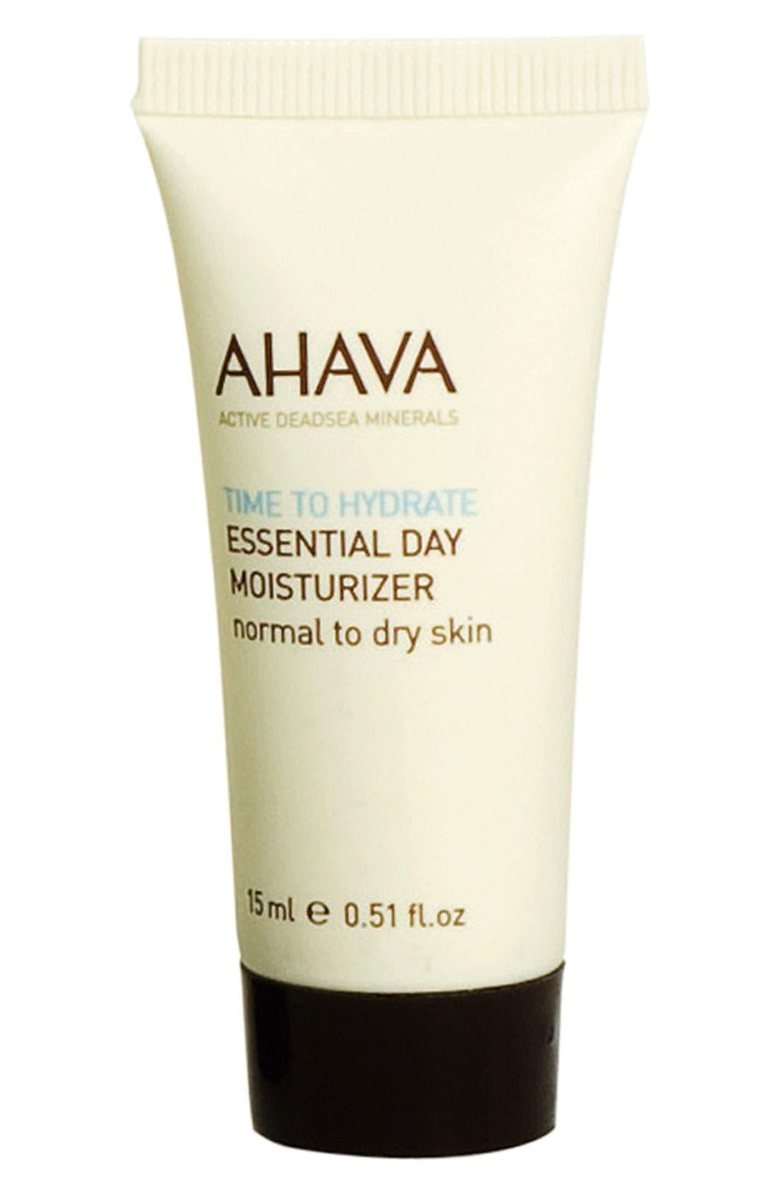 AHAVA Essential Day Moisturizer (Normal to Dry Skin) (0.51 oz.)