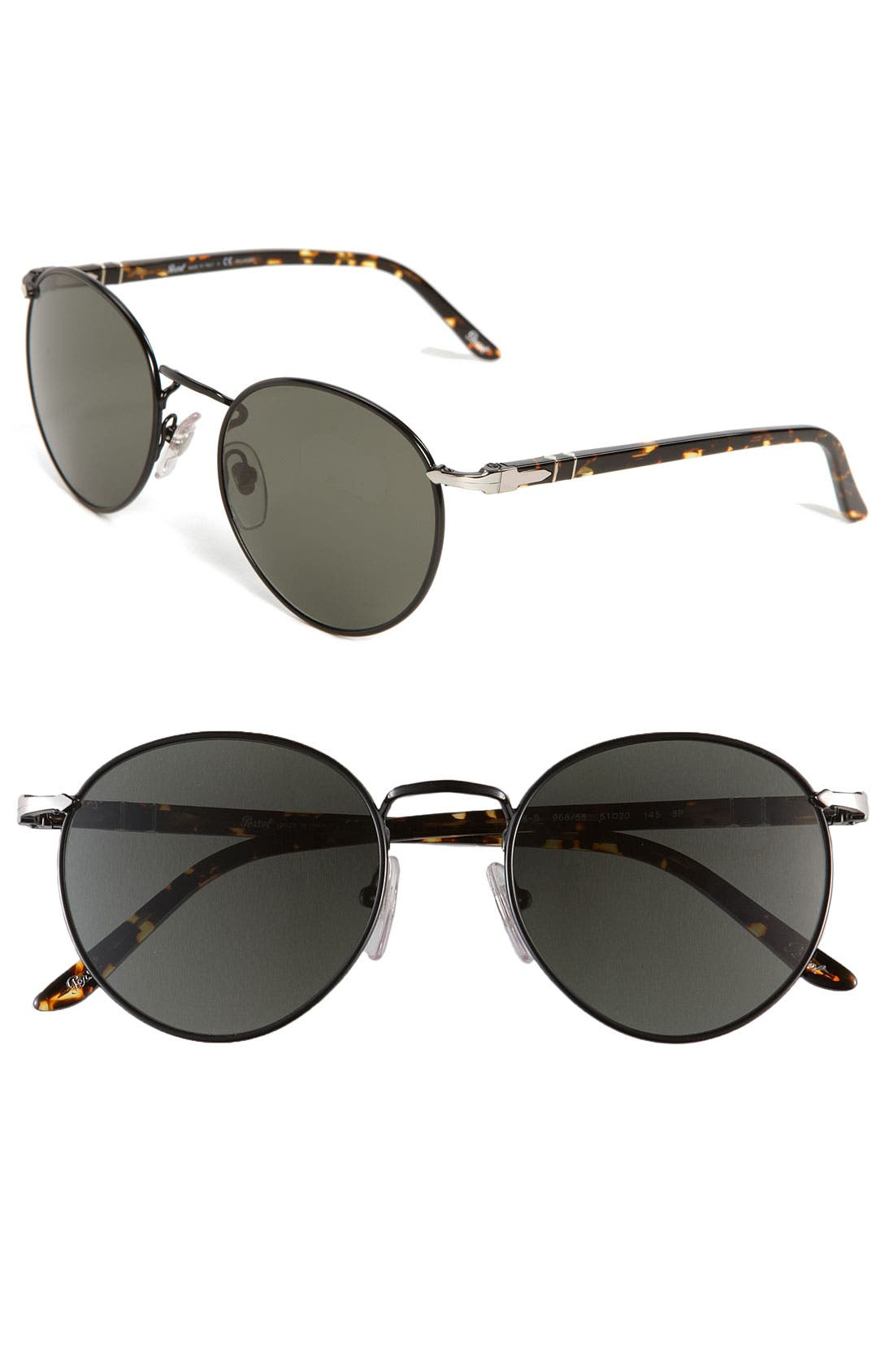 Alternate Image 1 Selected - Persol Round Polarized Sunglasses