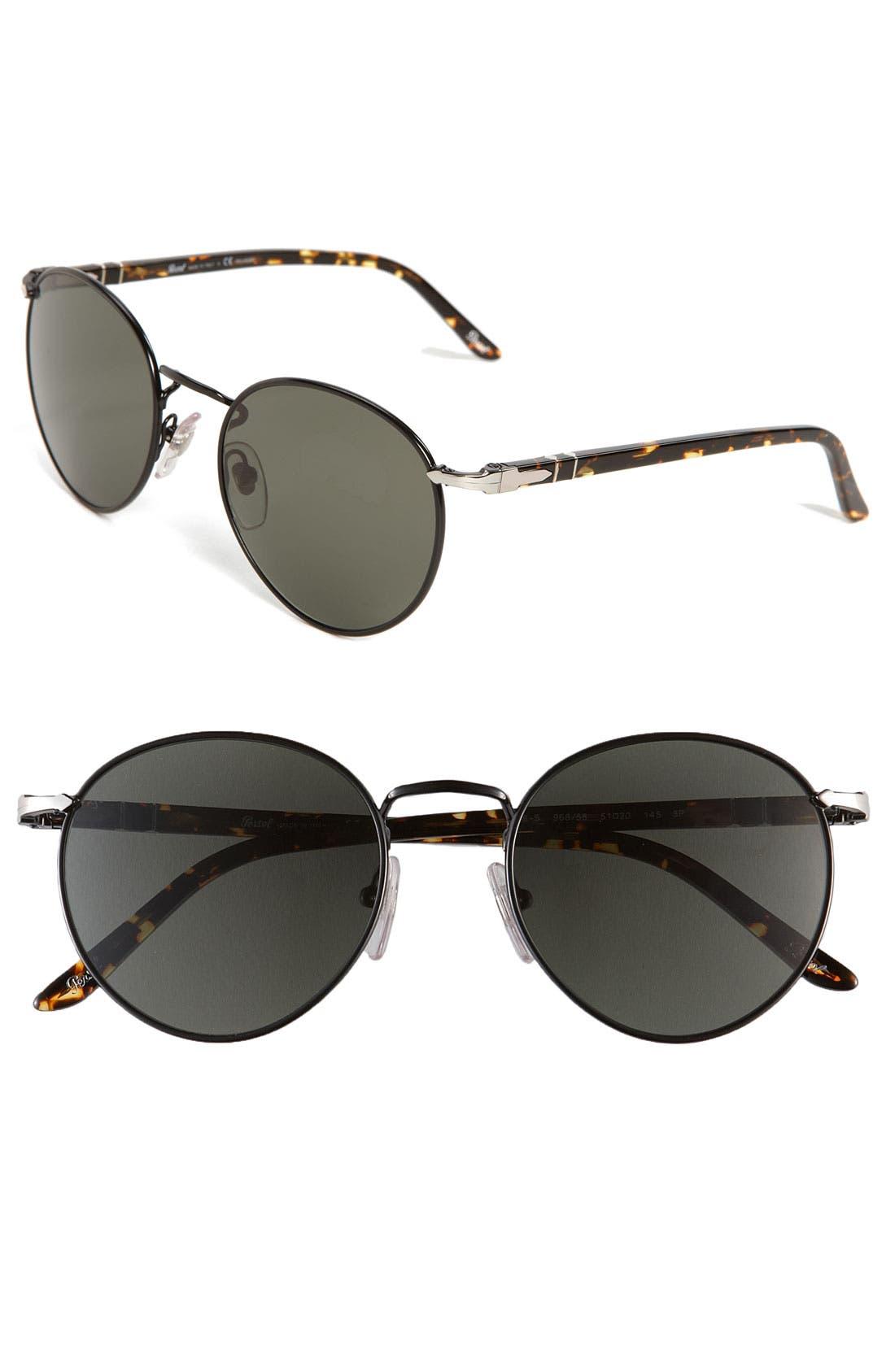 Main Image - Persol Round Polarized Sunglasses