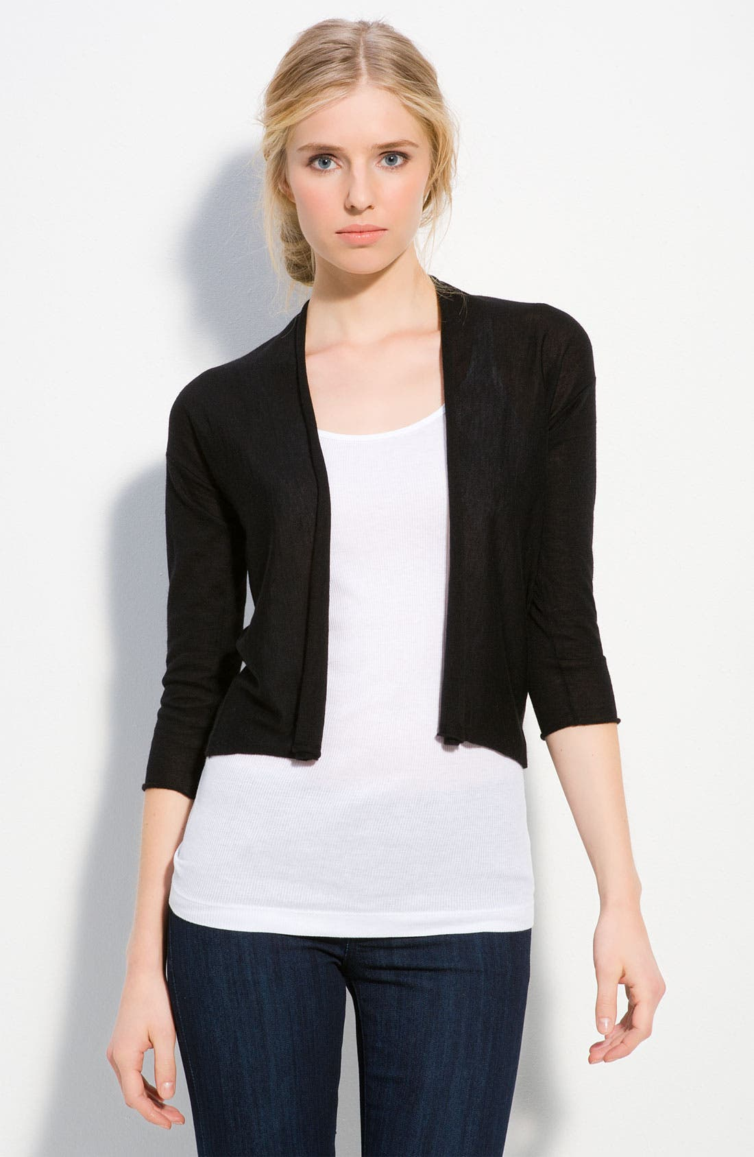 Main Image - autumn cashmere Crop Cardigan