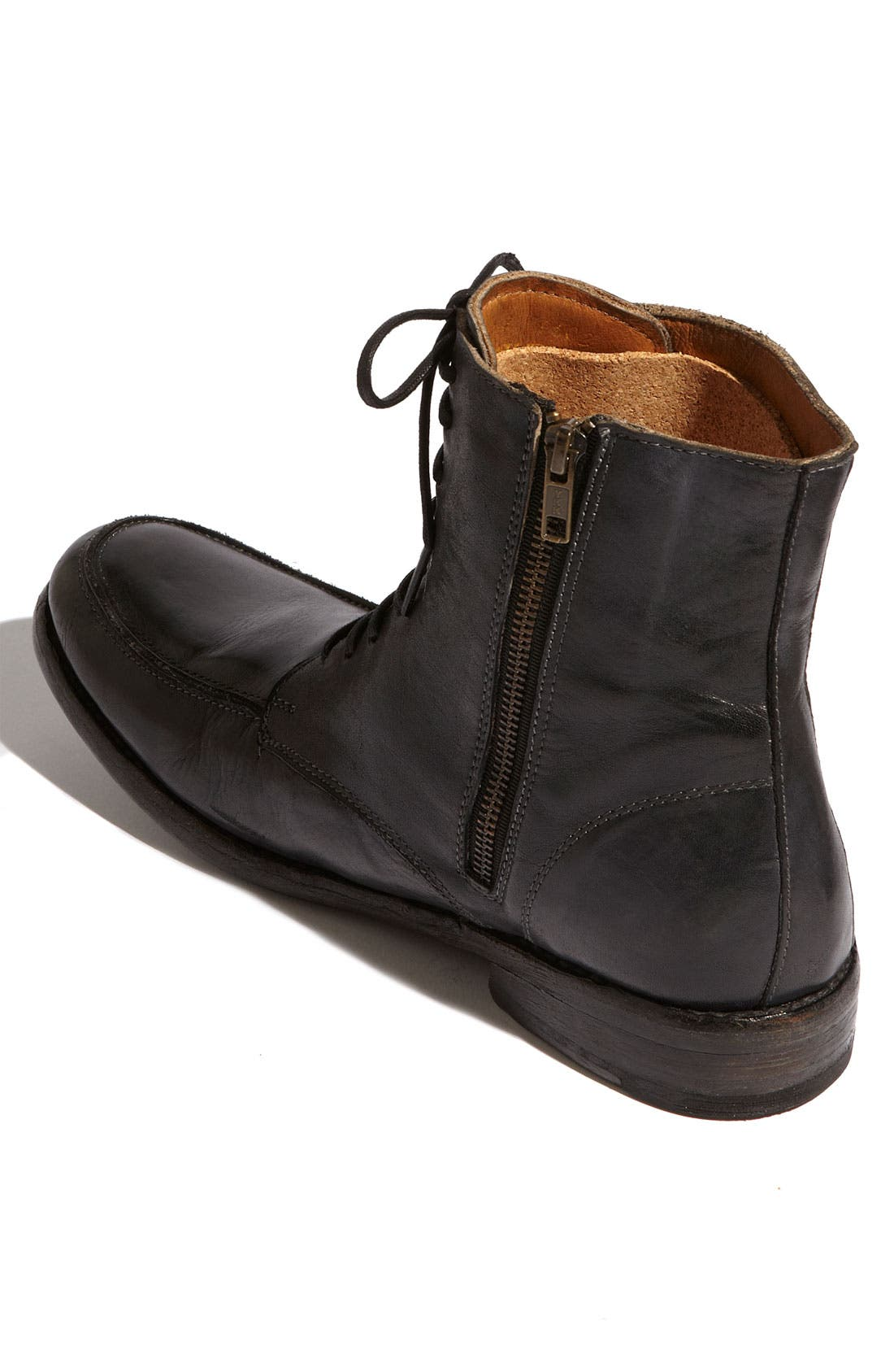 'Leo' Boot,                             Alternate thumbnail 3, color,                             Black Rustic