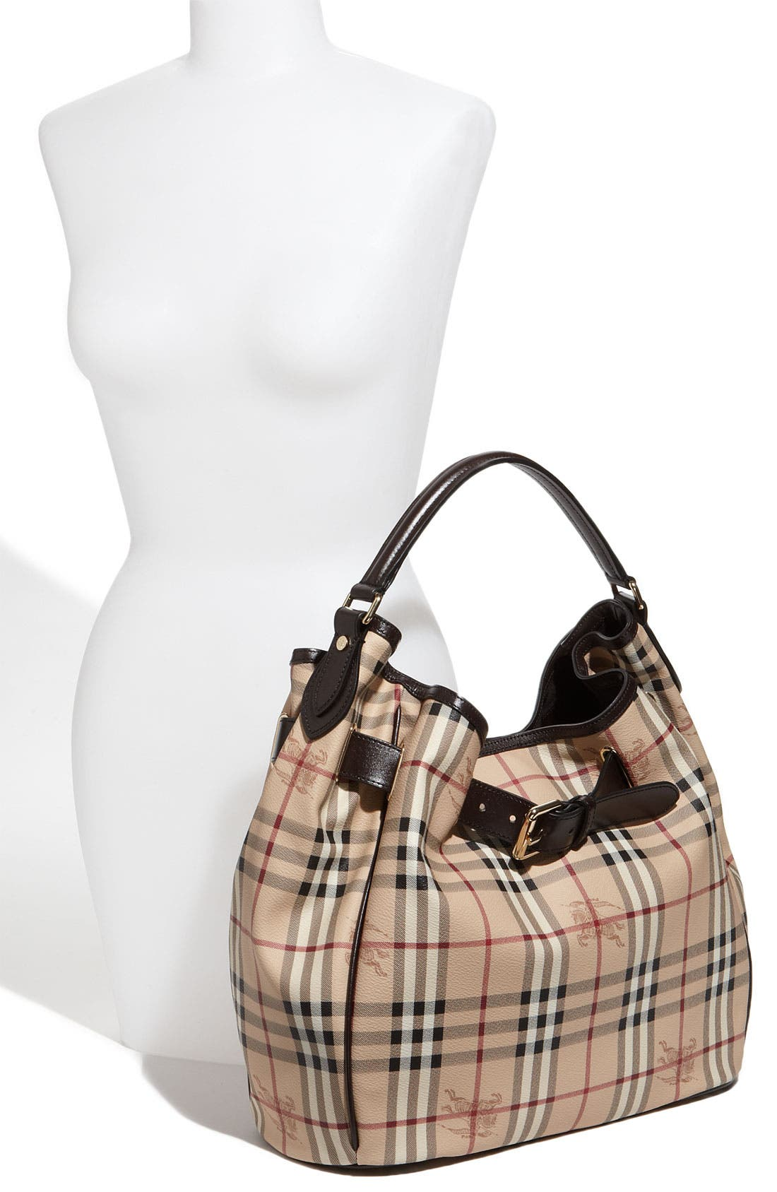Alternate Image 2  - Burberry 'Haymarket Check' Hobo
