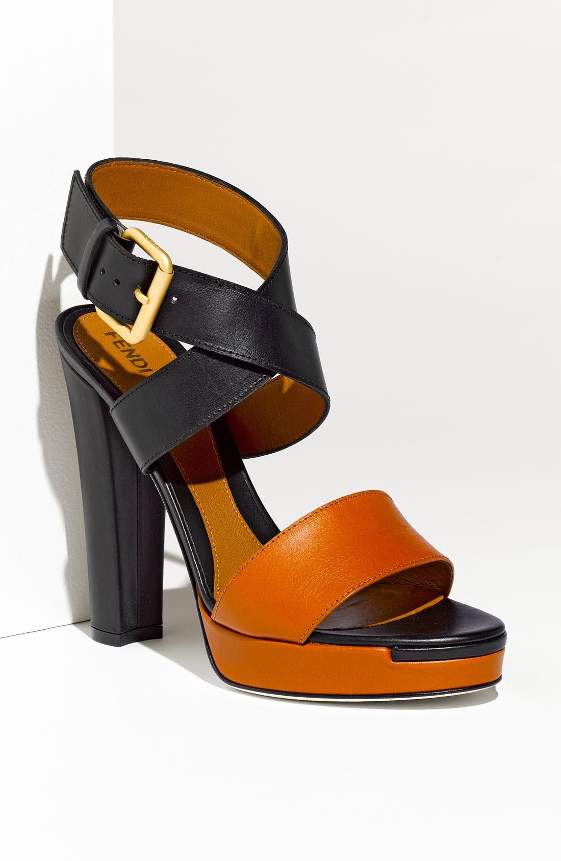 Alternate Image 1 Selected - Fendi 'Respect' Sandal