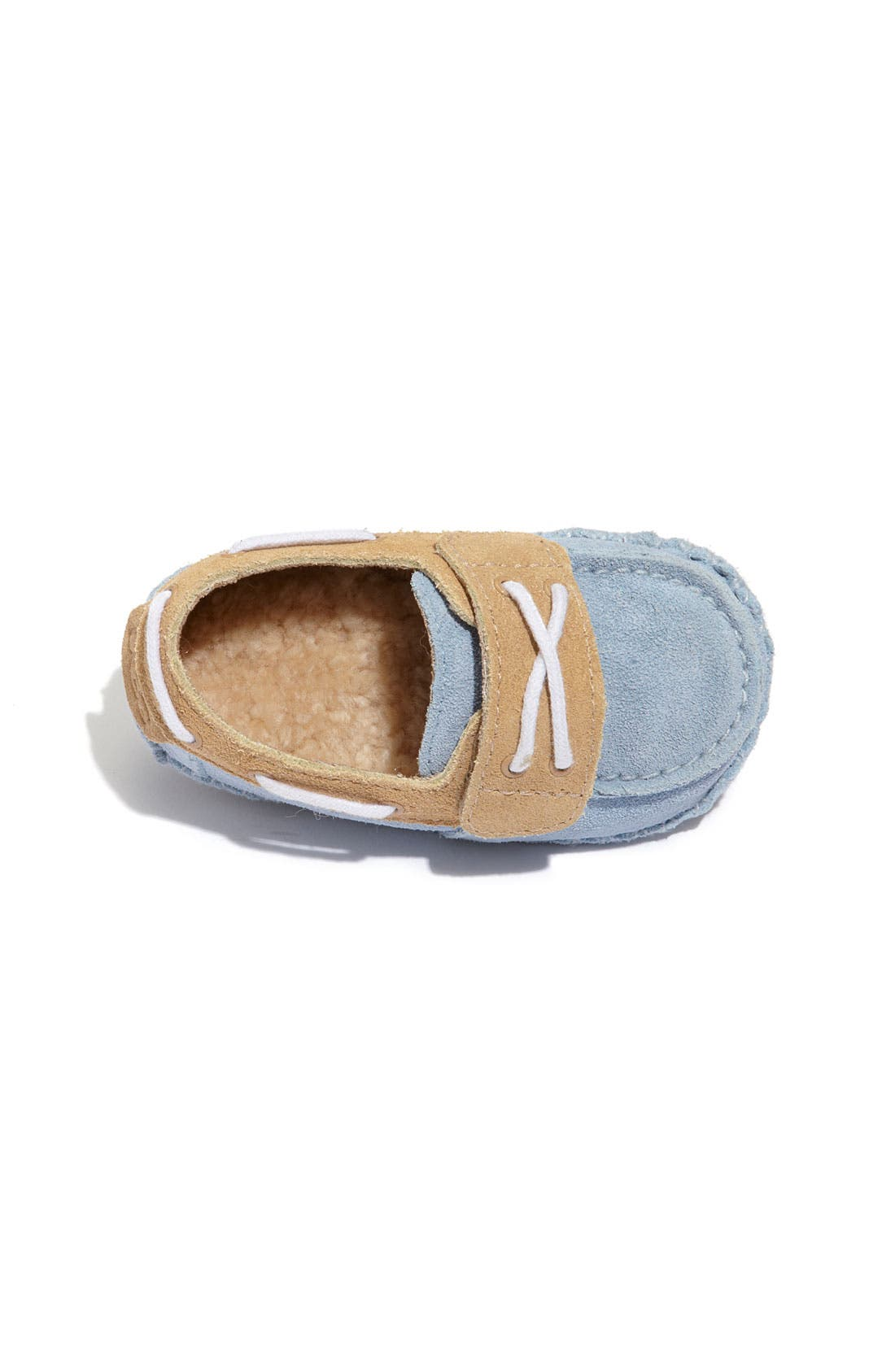 Australia 'Zach' Slip-On,                             Alternate thumbnail 3, color,                             Blue/ Sand
