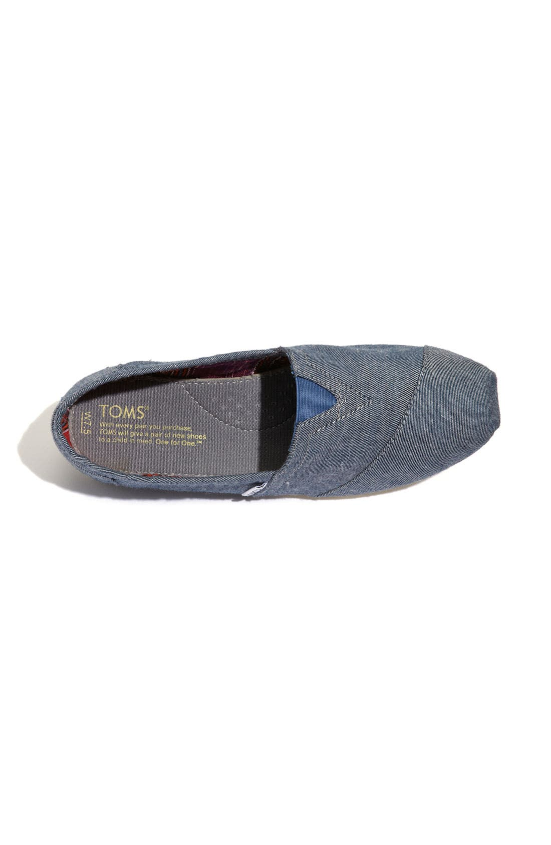 Alternate Image 3  - TOMS 'Seasonal Classic - Corry' Slip-On (Women)