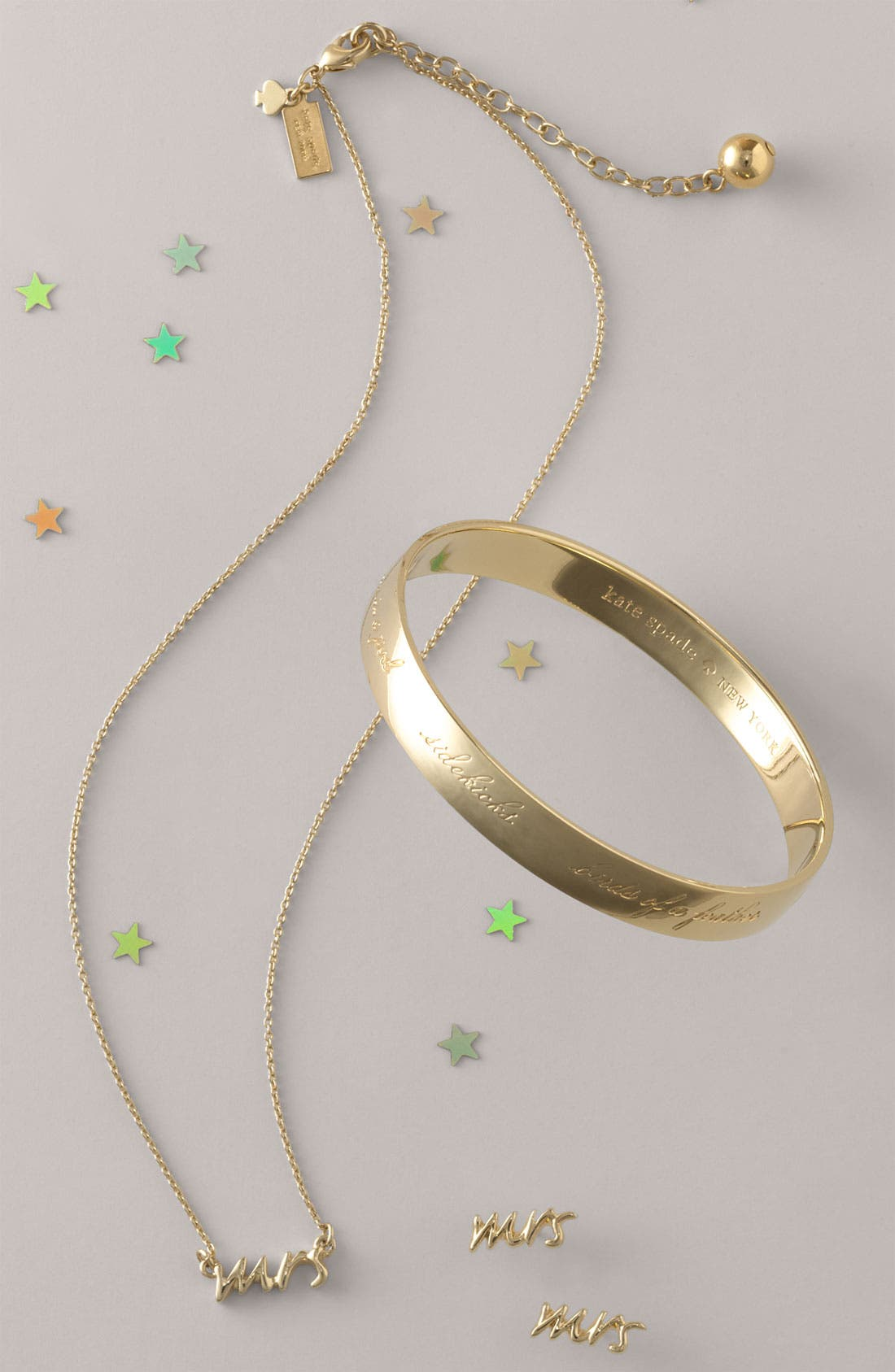 Alternate Image 3  - kate spade new york 'say yes - mrs' necklace