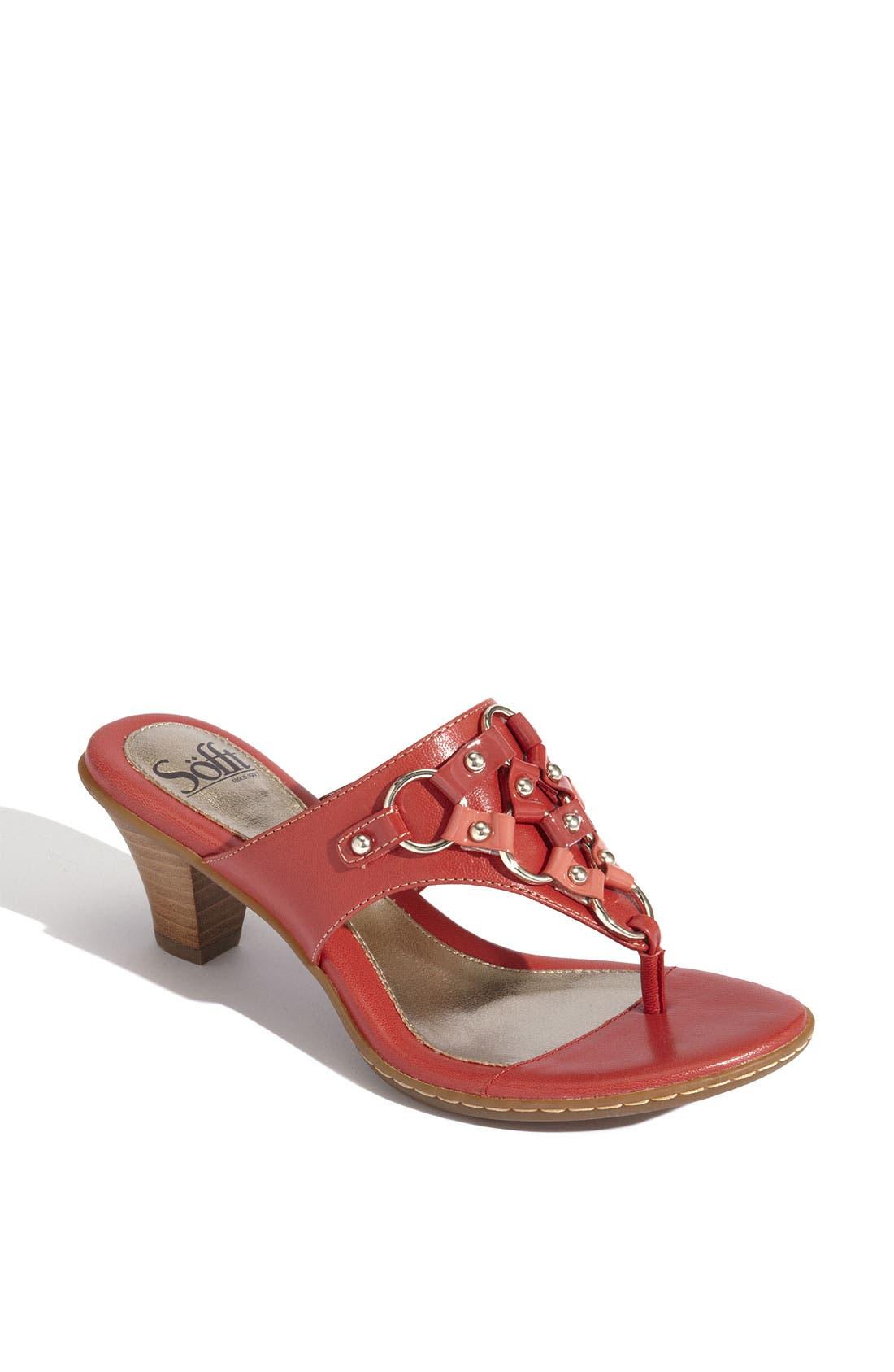 Alternate Image 1 Selected - Söfft 'Reza' Slide Sandal