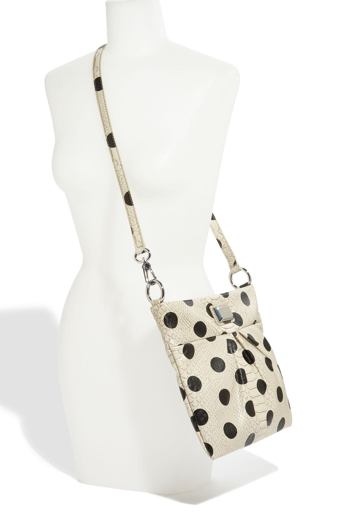 Alternate Image 2  - MARC BY MARC JACOBS 'Dotty Snake - Sia' Faux Leather Crossbody Bag