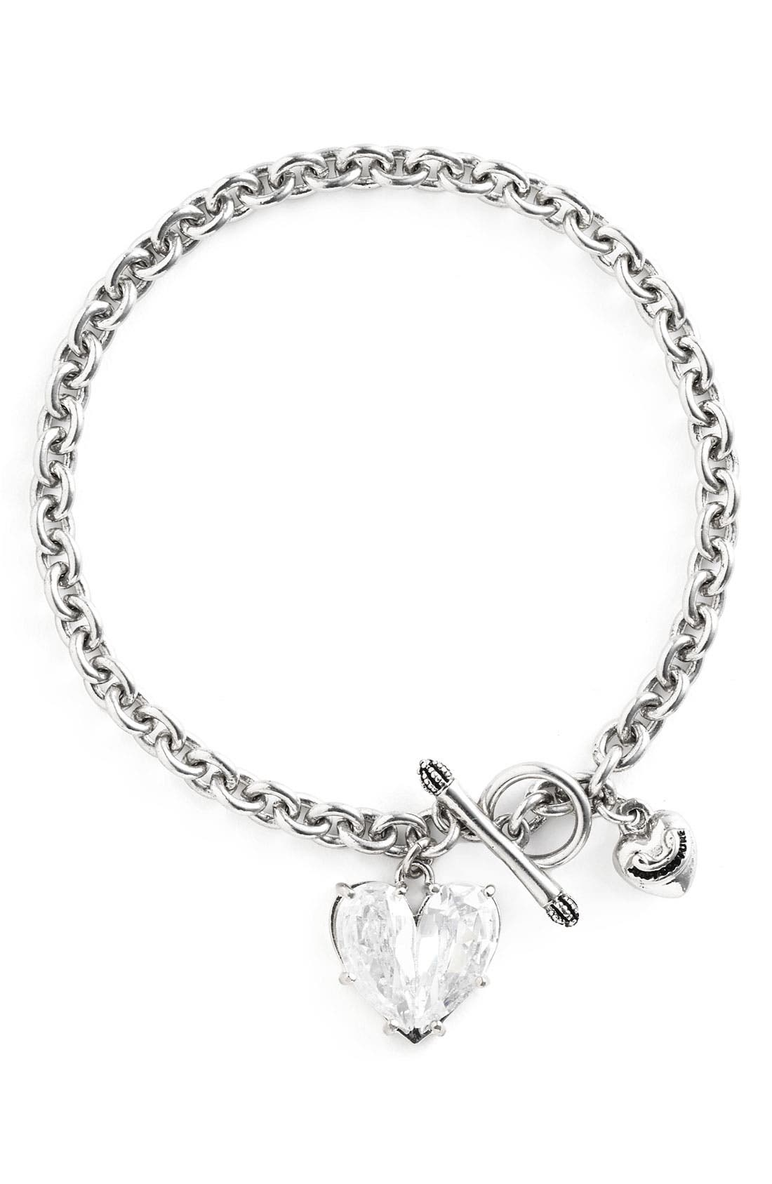 Main Image - Juicy Couture 'Juicy Icons CZ Wish' Bracelet