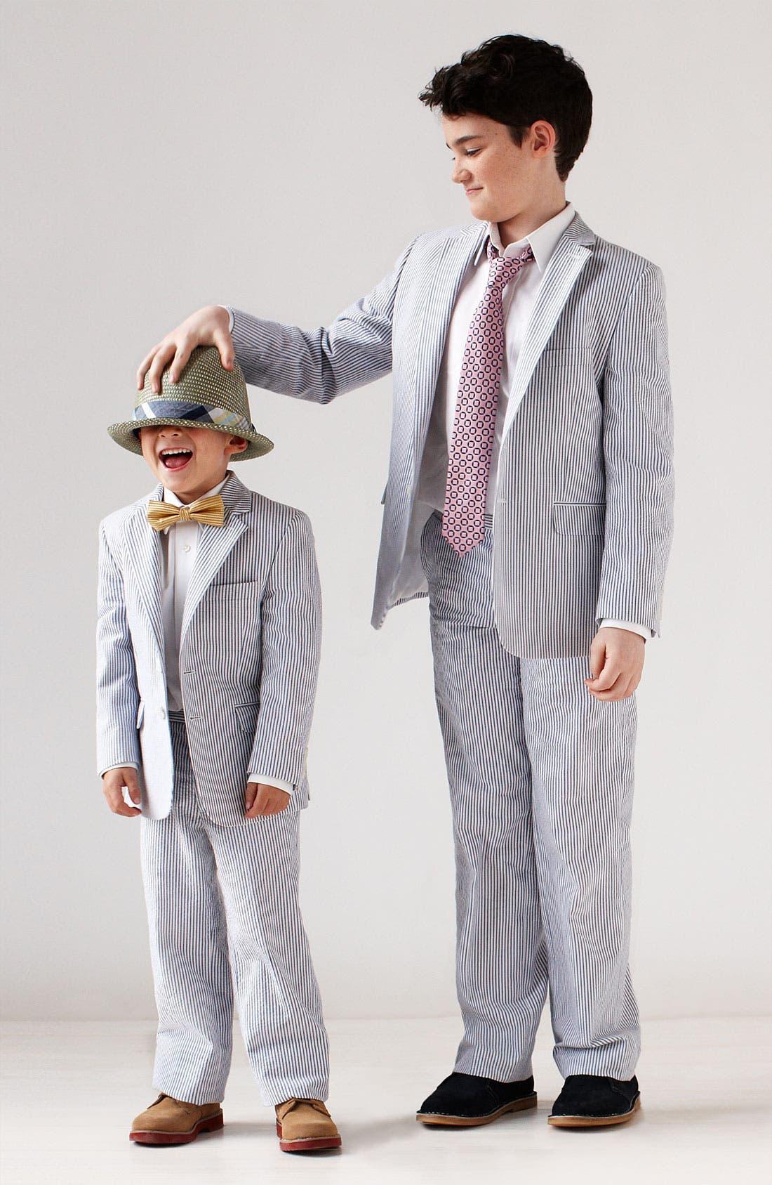 Alternate Image 2  - Nordstrom Seersucker Pants (Little Boys & Big Boys)
