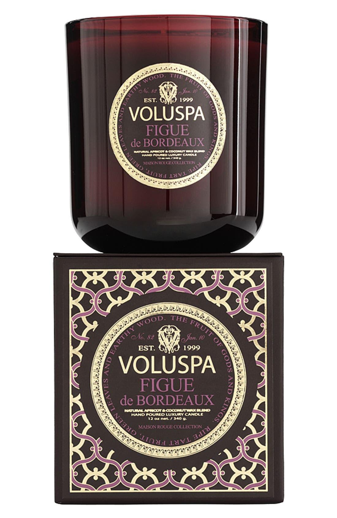 Alternate Image 1 Selected - Voluspa 'Maison Rouge - Figue de Bordeaux' Scented Candle