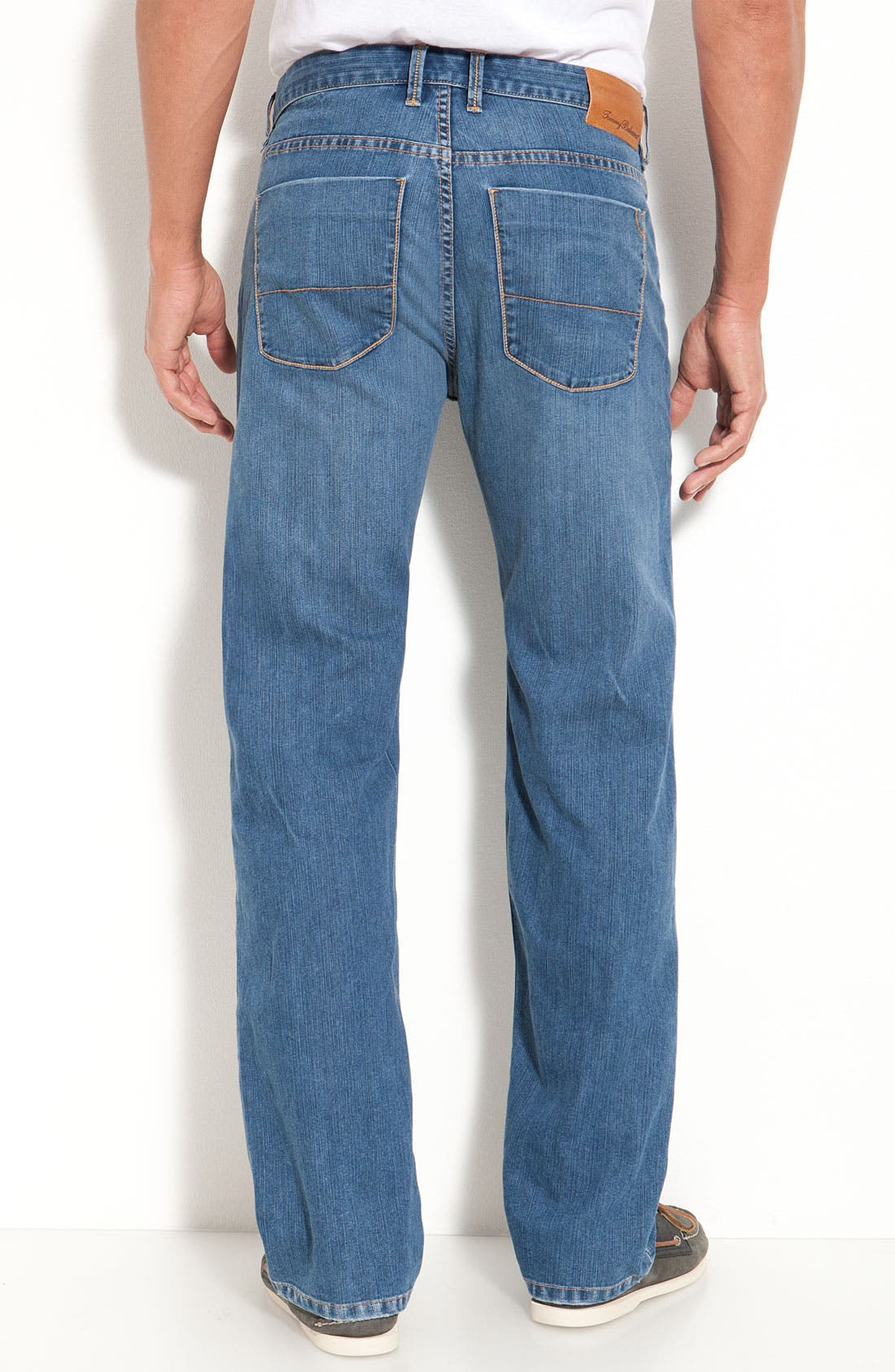 Alternate Image 2  - Tommy Bahama Denim 'Calo' Standard Jeans (Medium Worn)(Big & Tall)