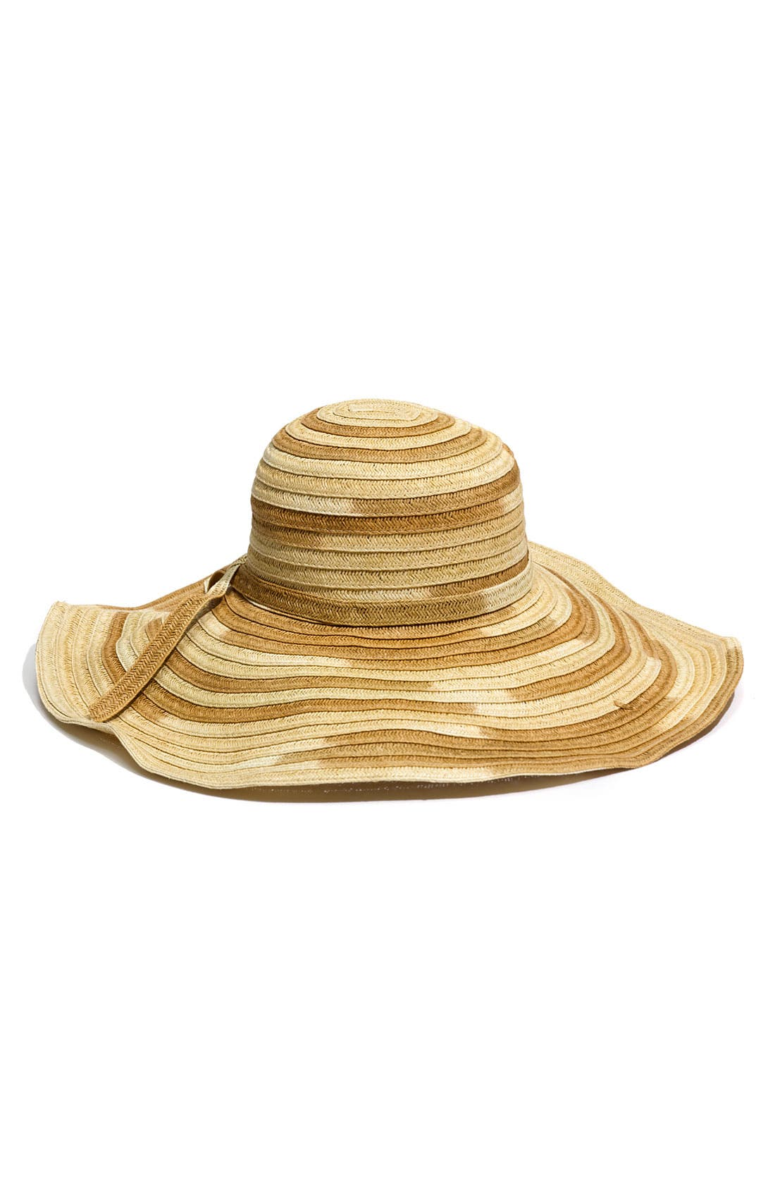 Alternate Image 1 Selected - Jessica Simpson 'Oversized' Ombré Hat