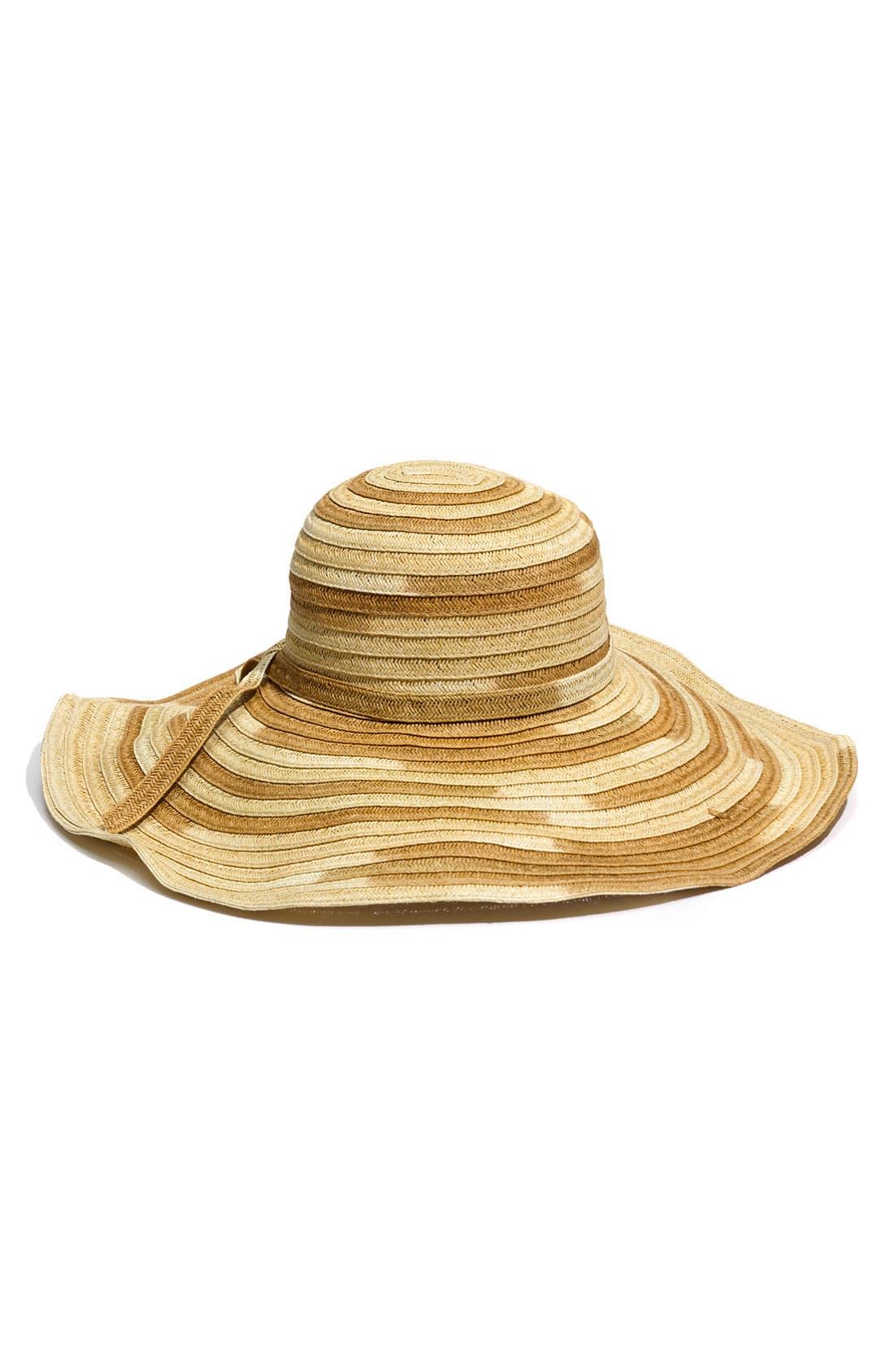 Main Image - Jessica Simpson 'Oversized' Ombré Hat