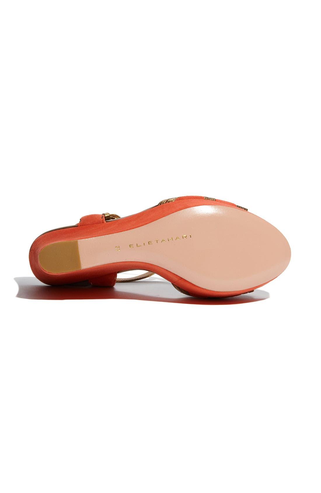 Alternate Image 4  - Elie Tahari 'Lynette' Wedge Sandal
