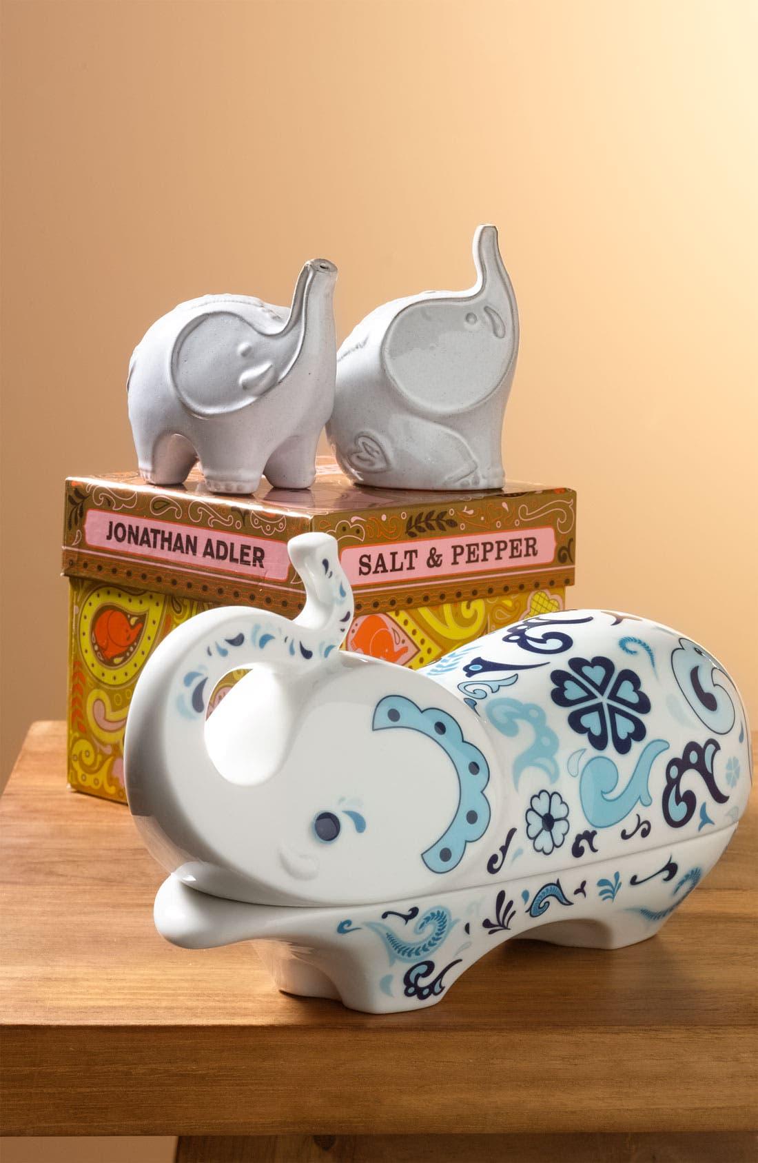 Alternate Image 3  - Jonathan Adler 'Elephant' Porcelain Butter Dish