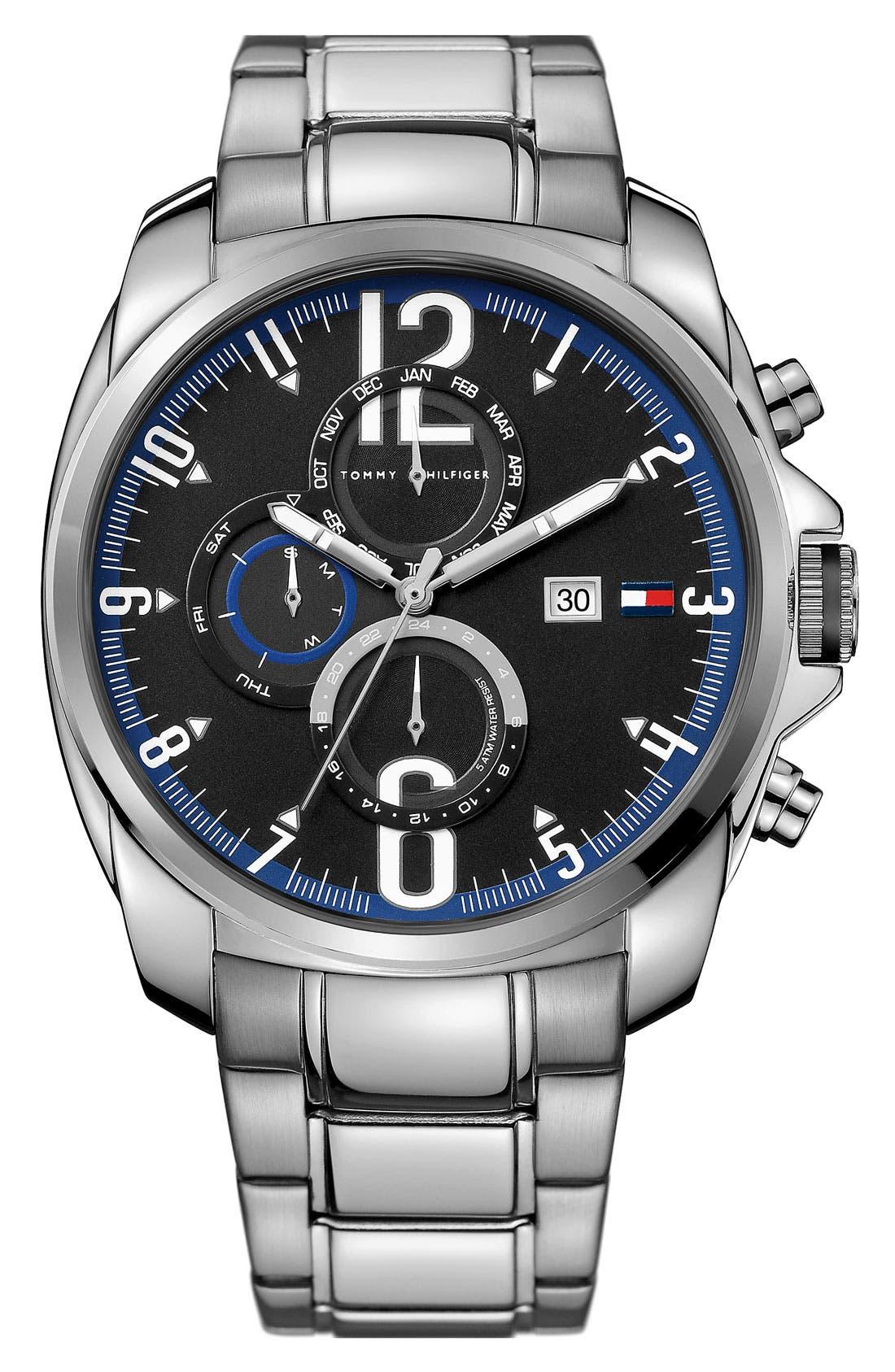 Alternate Image 1 Selected - Tommy Hilfiger 'Sport' Multifunction Bracelet Watch