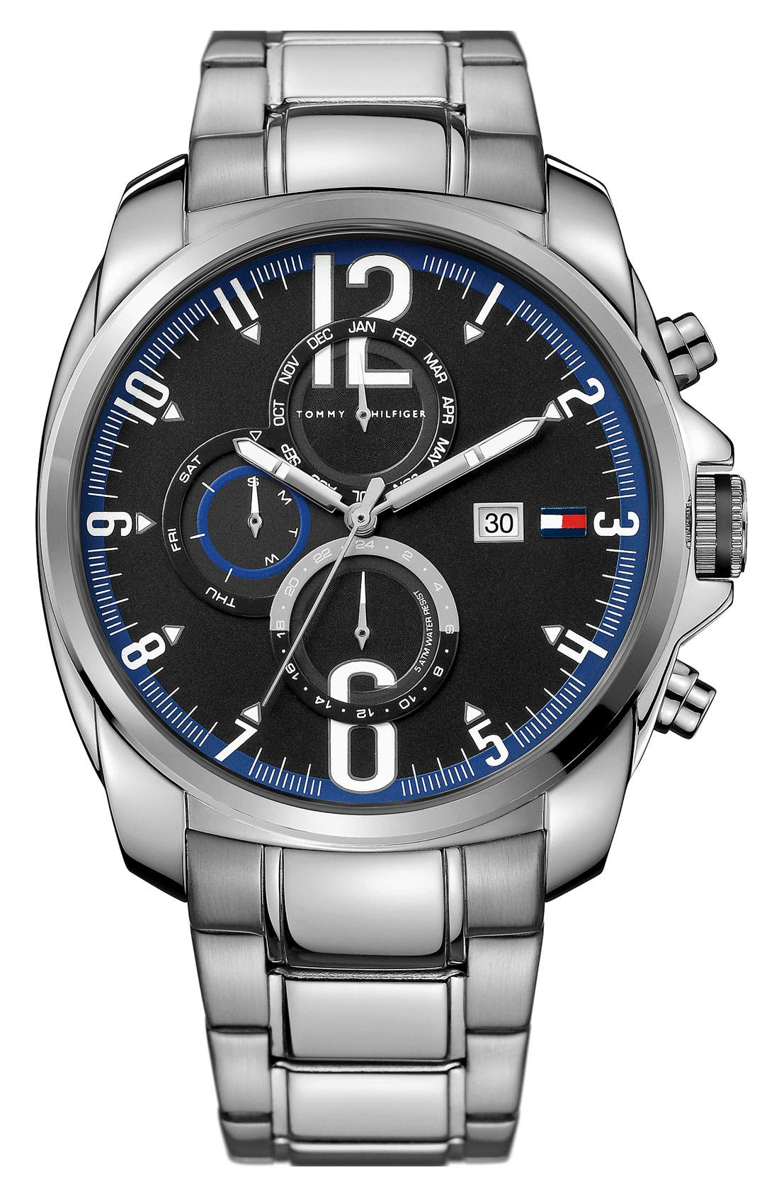 Main Image - Tommy Hilfiger 'Sport' Multifunction Bracelet Watch