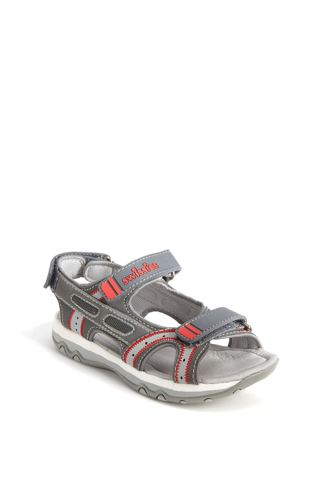 Alternate Image 1 Selected - Swissies 'Lynx' Sandal (Toddler, Little Kid & Big Kid)