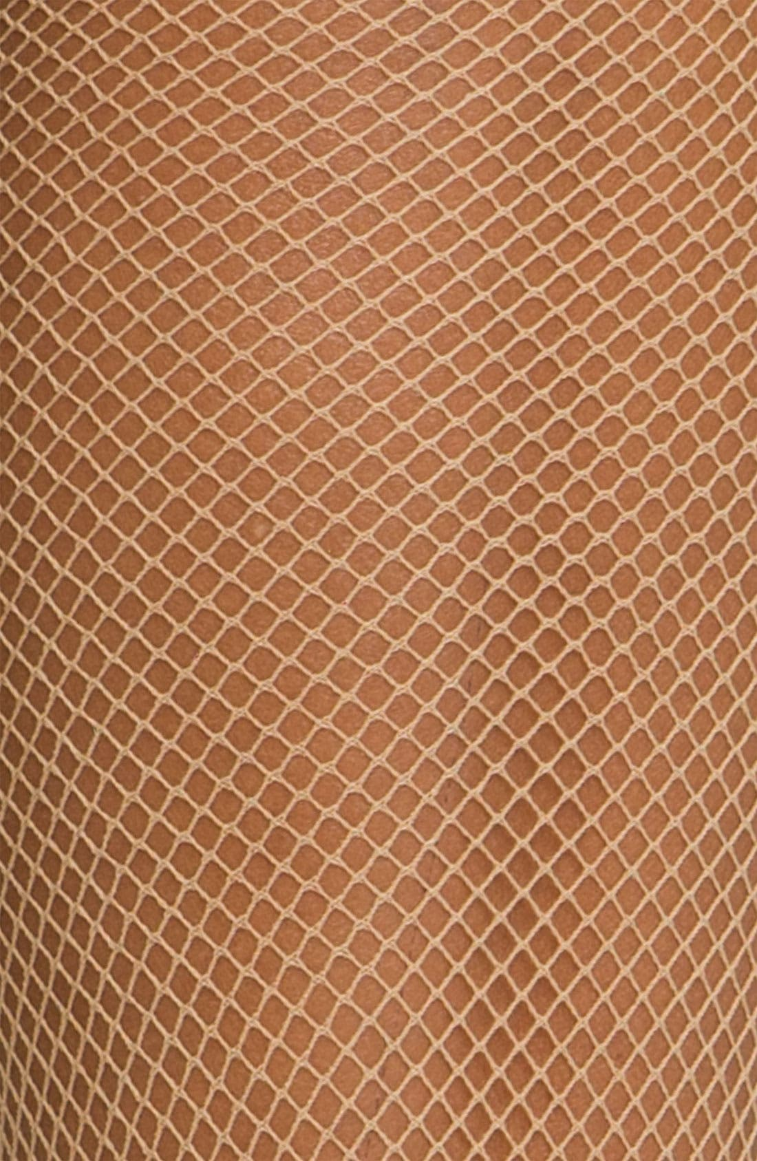 Alternate Image 2  - Oroblu Fishnet Trouser Socks