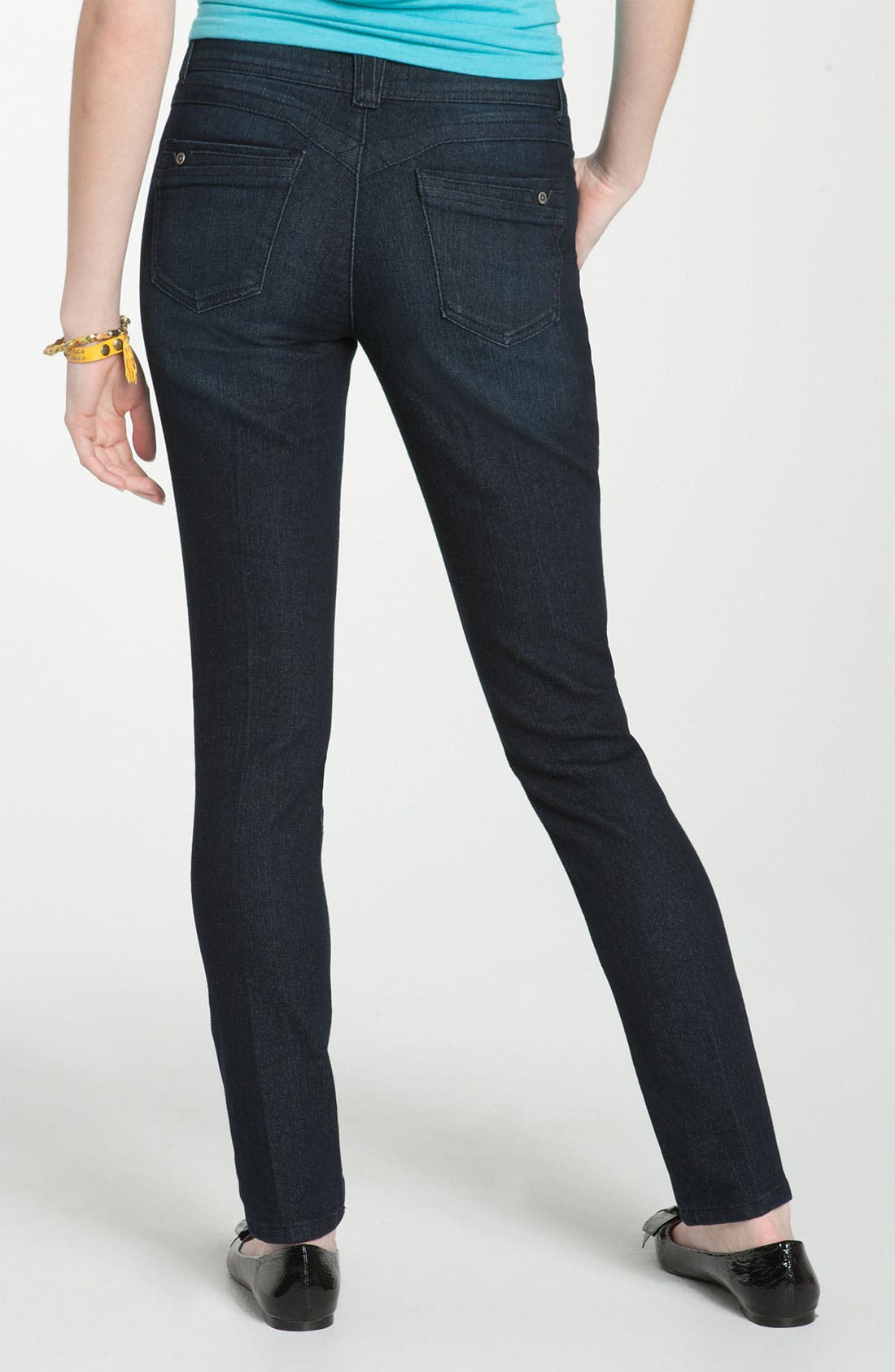 Alternate Image 1 Selected - Jolt 'Pick Me Up' Skinny Jeans (Juniors)