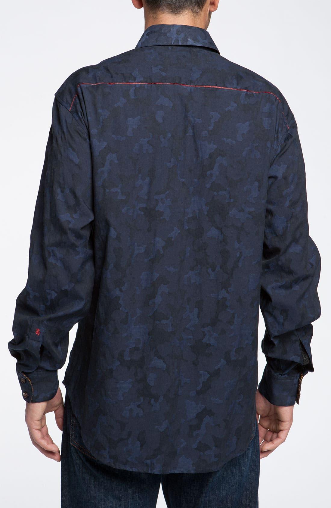 Alternate Image 2  - Robert Graham 'Tchou' Sport Shirt (Limited Edition)
