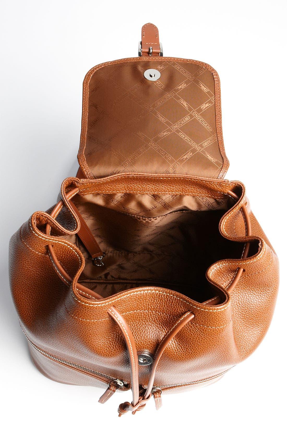 Alternate Image 3  - Longchamp Leather Backpack