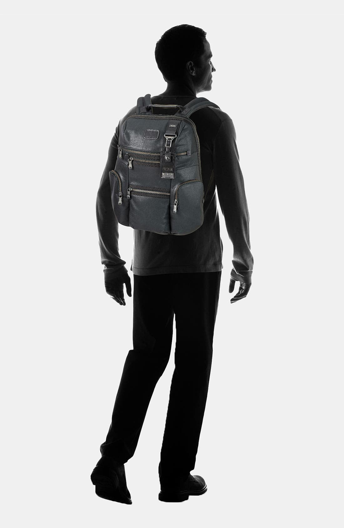 Alternate Image 6  - Tumi 'Alpha Bravo - Knox' Leather Backpack