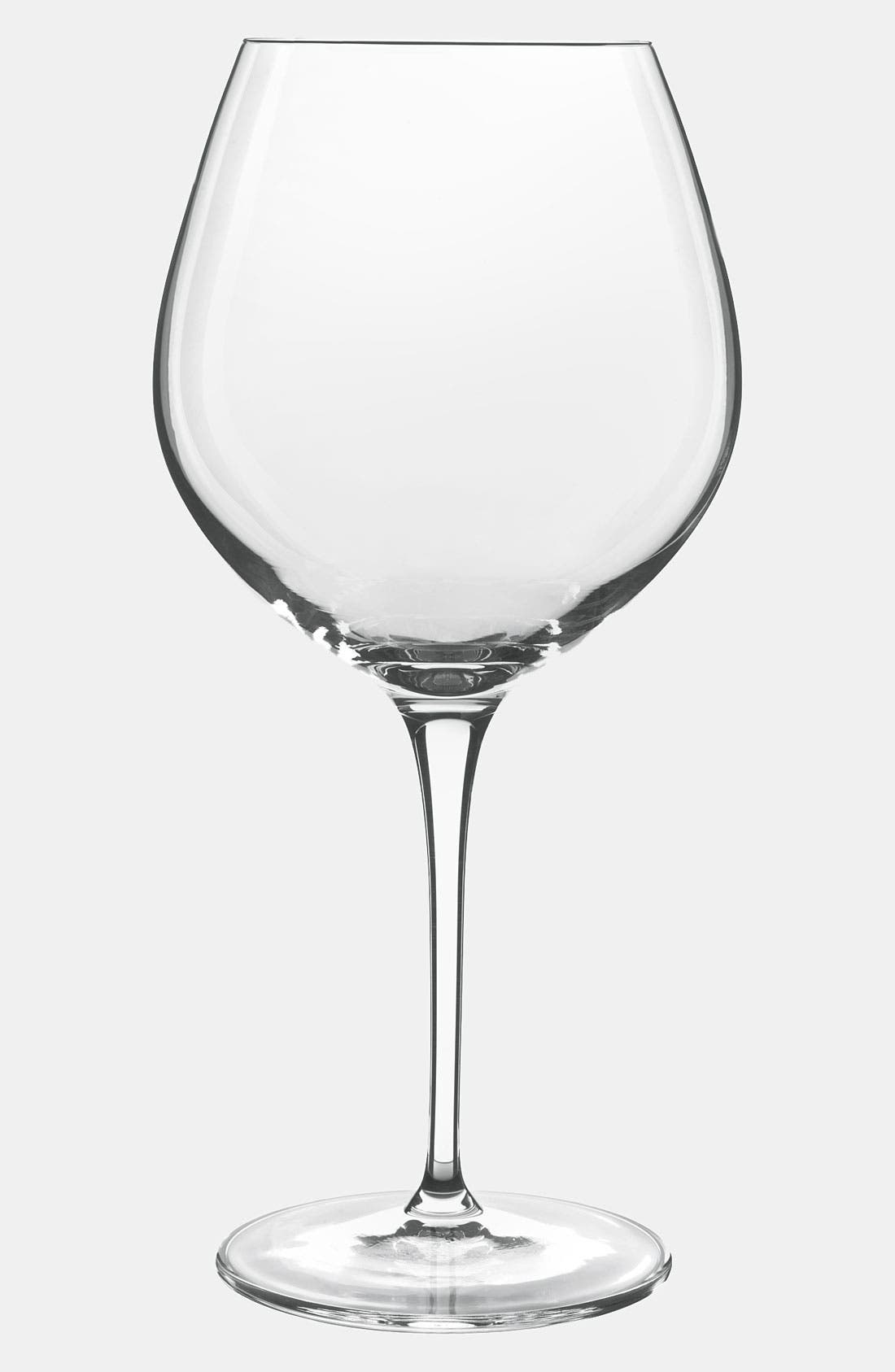 Alternate Image 2  - Luigi Bormioli 'Wine Profiles Smooth Reds' Wine Glasses (Set of 2)