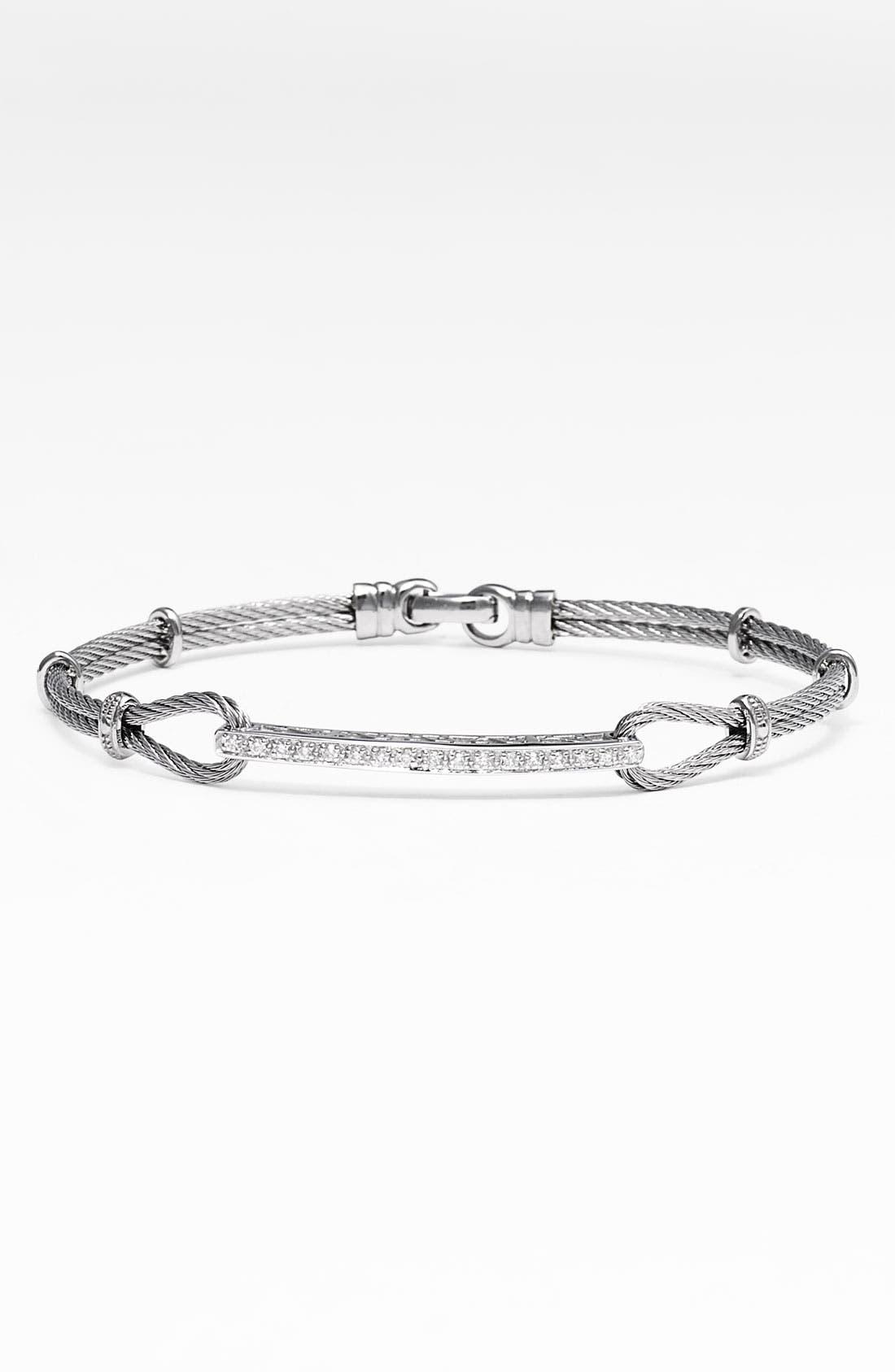 Main Image - ALOR® Diamond ID Bracelet