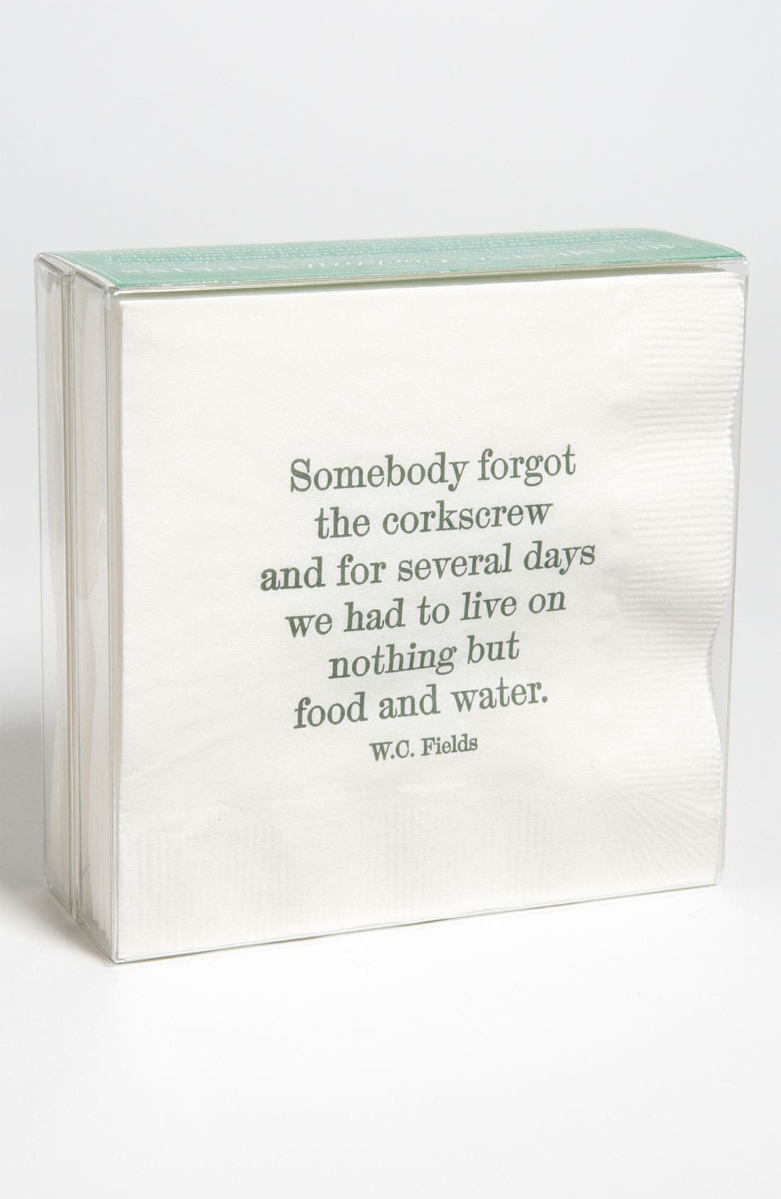 Alternate Image 1 Selected - Ben's Garden 'Somebody Forgot' Cocktail Napkins