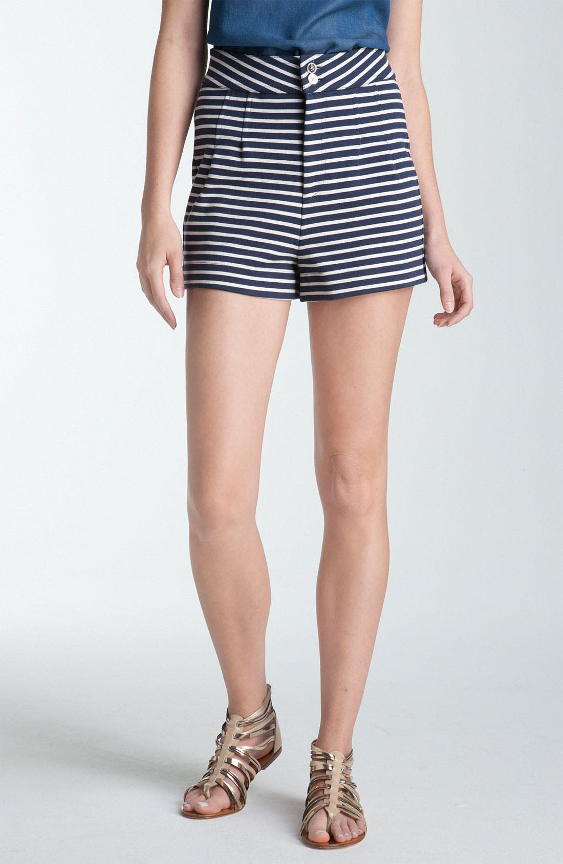 Alternate Image 1 Selected - MARC BY MARC JACOBS 'Secret' Stripe Shorts