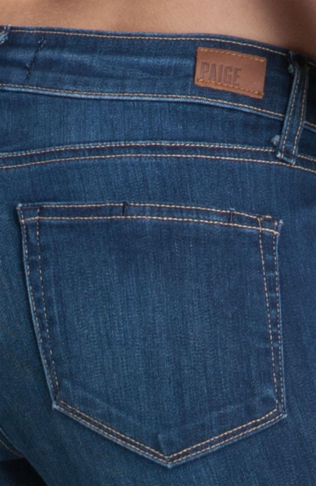 Alternate Image 3  - Paige Denim 'Skyline' Skinny Jeans (Ravine)