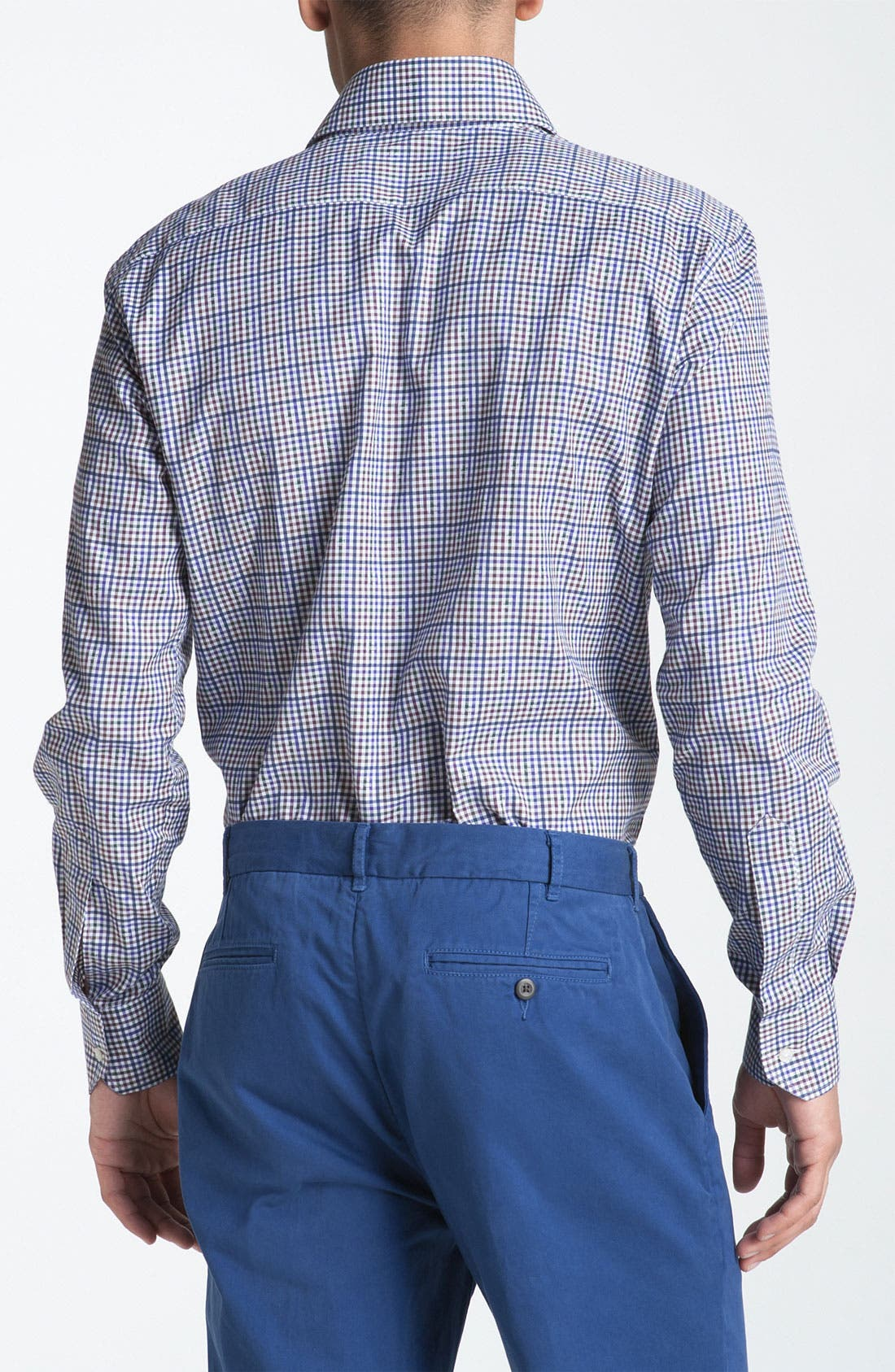 Alternate Image 2  - Etro Plaid Woven Dress Shirt