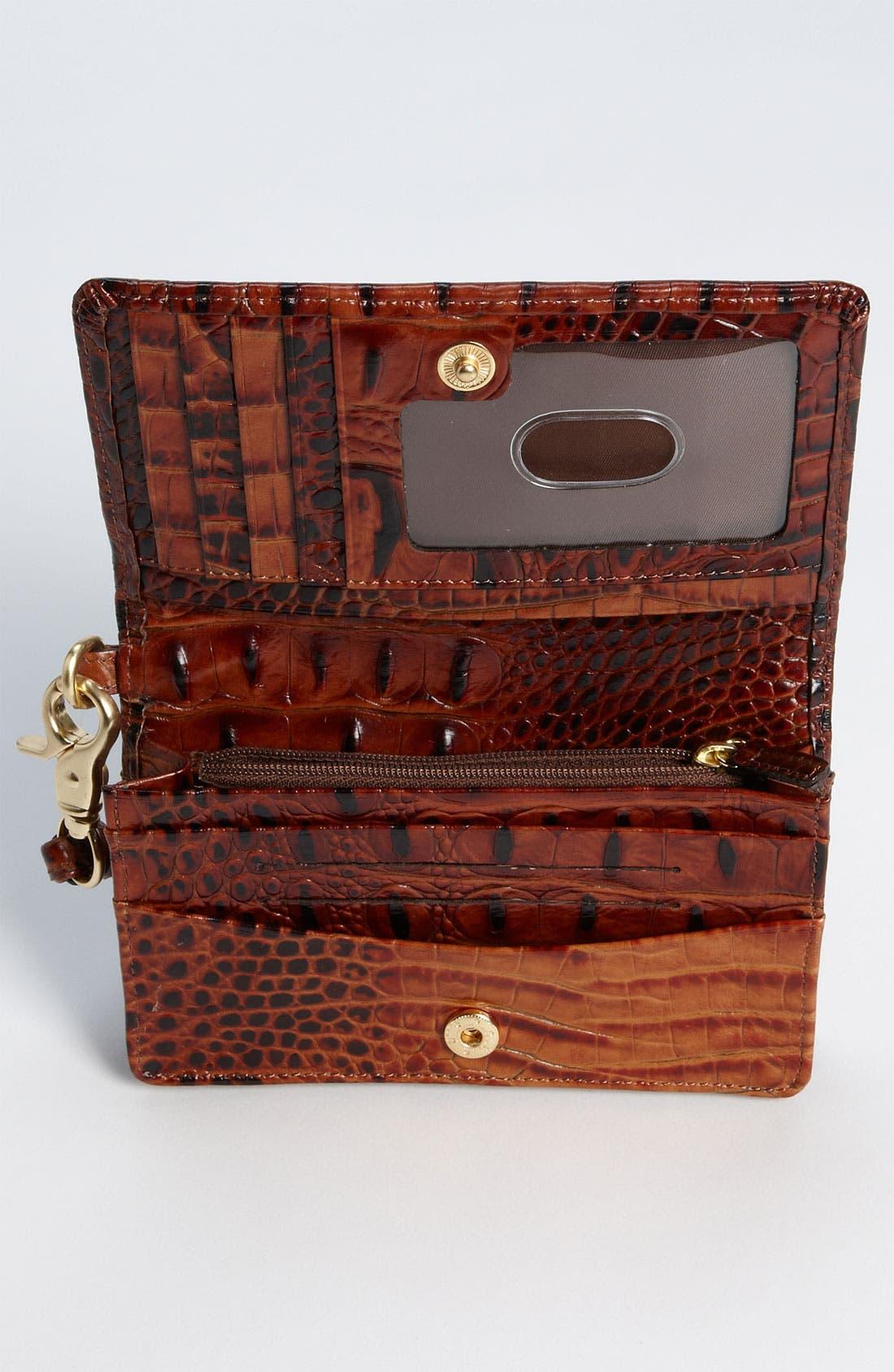 Alternate Image 2  - Brahmin 'Debi' Croc Embossed Leather Wristlet