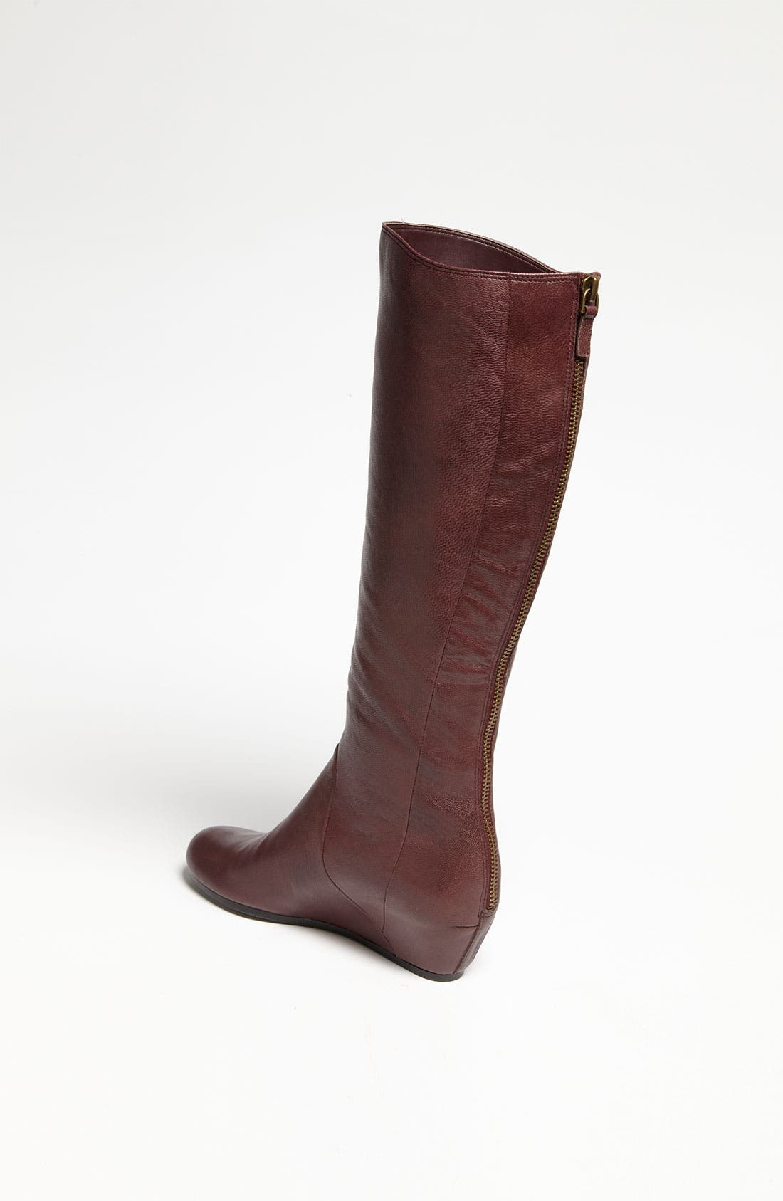'Runway' Boot,                             Alternate thumbnail 2, color,                             Burgundy
