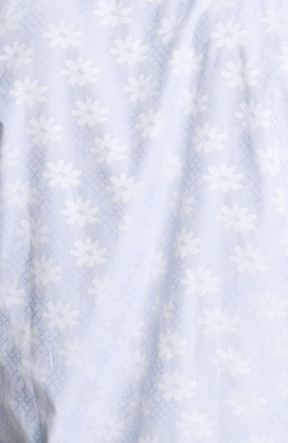 Alternate Image 3  - Bugatchi Uomo Regular Fit Sport Shirt