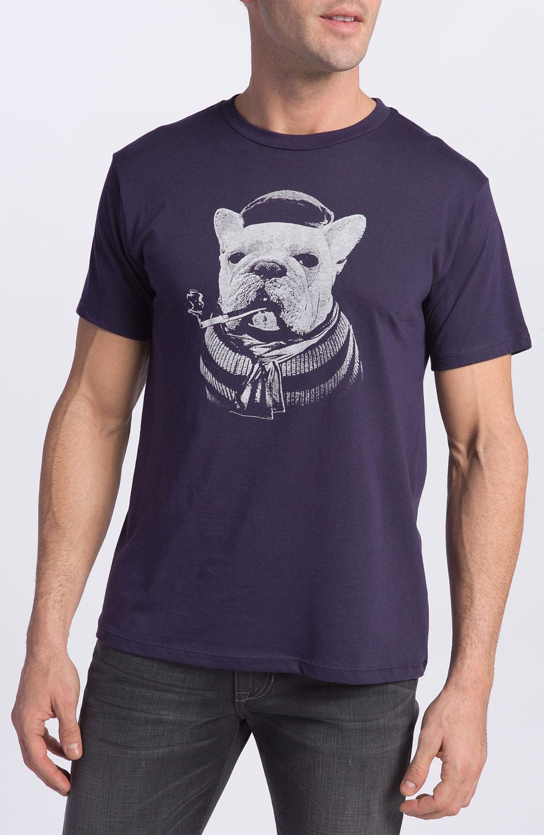 Alternate Image 1 Selected - Headline Shirts 'French Bulldog' T-Shirt