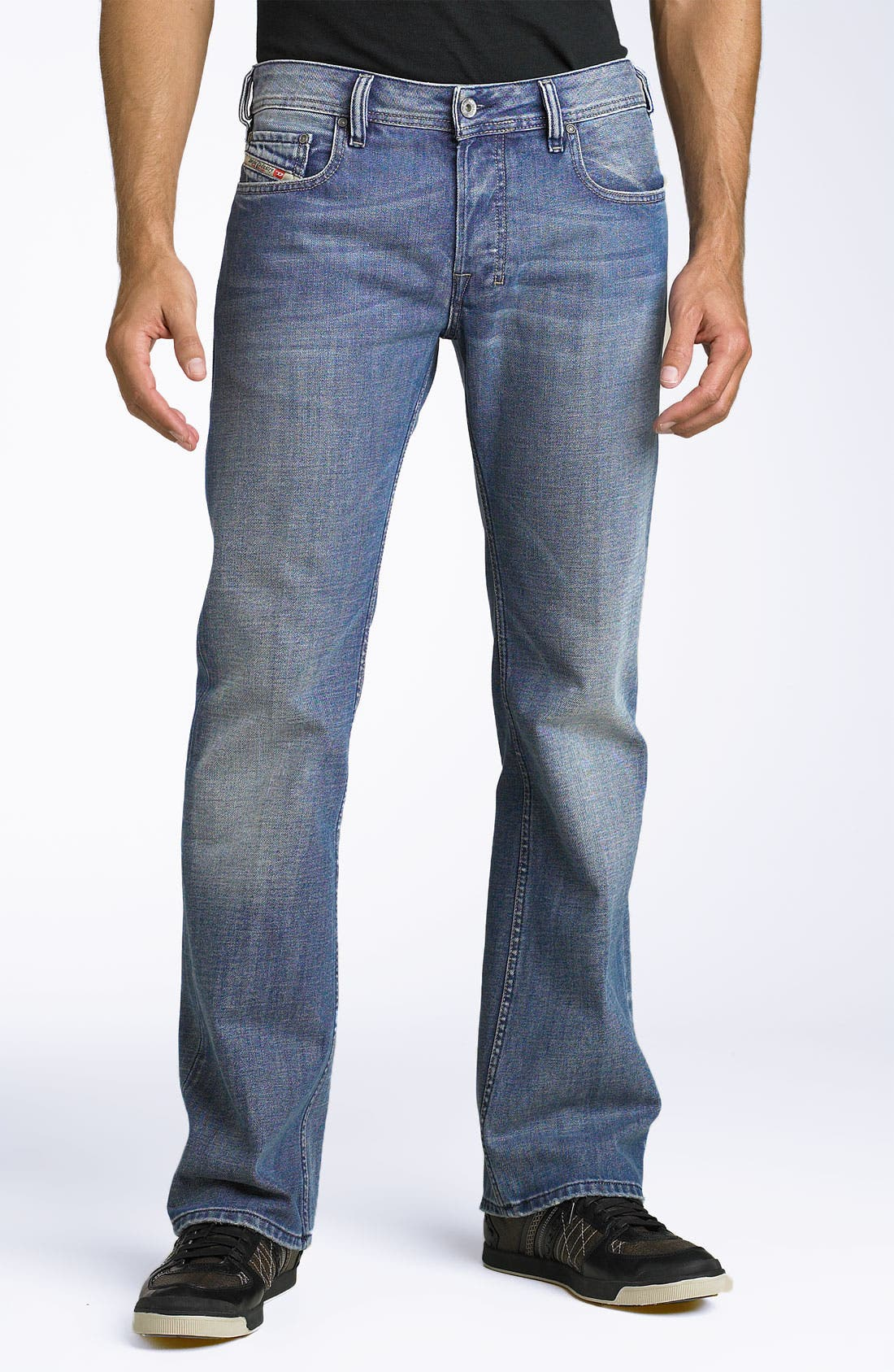 Alternate Image 2  - DIESEL® 'Zatiny' Bootcut Jeans (8AT)
